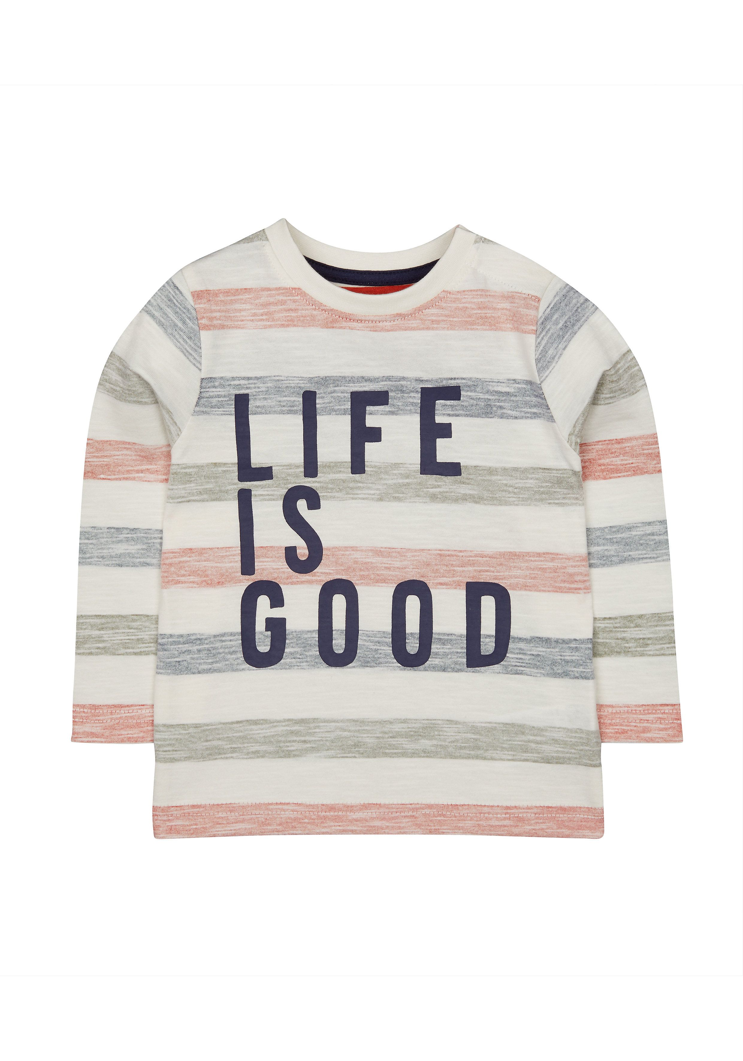 Mothercare   Multicoloured Striped T-Shirt