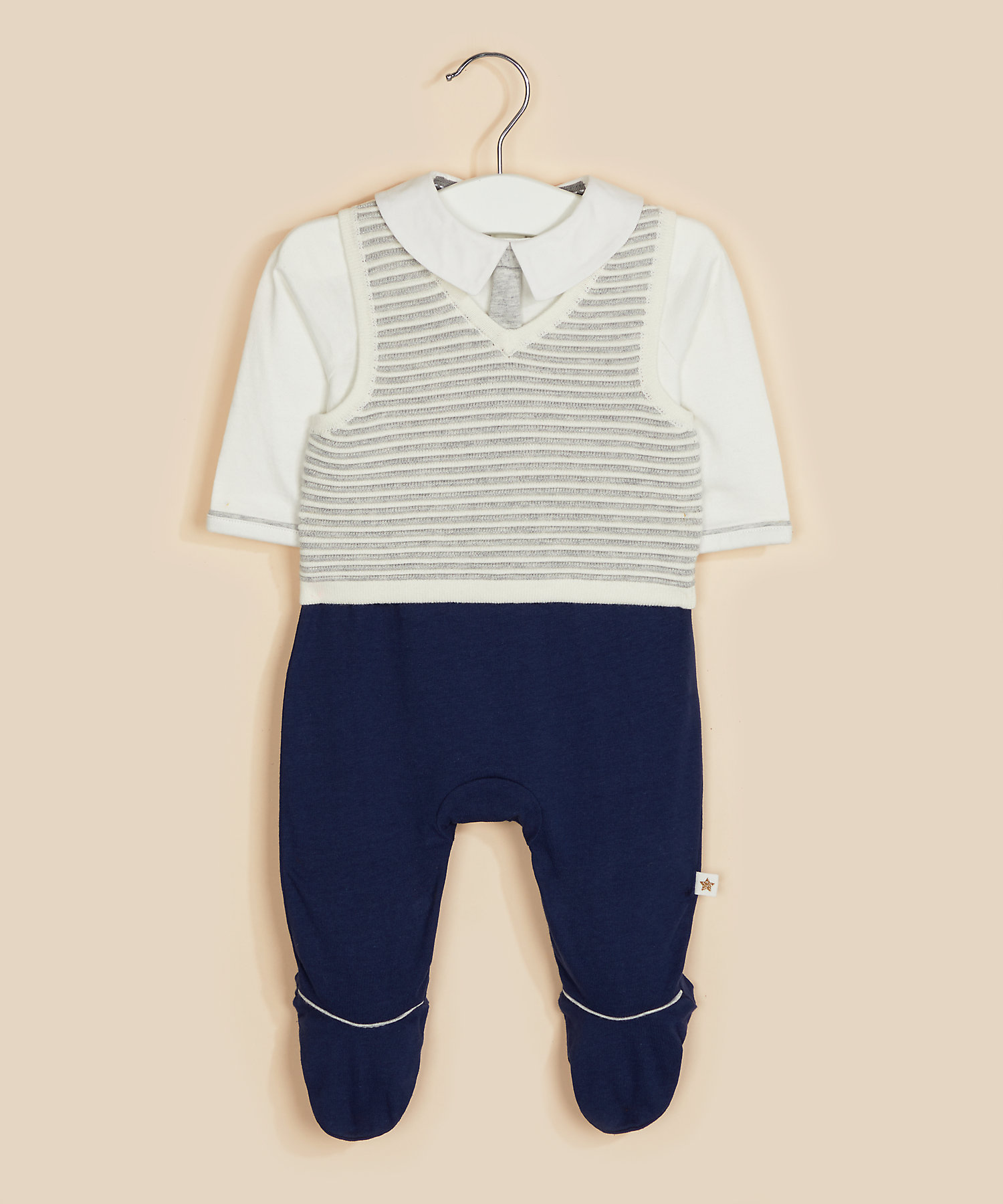 Mothercare | Mock 3-Piece All In One