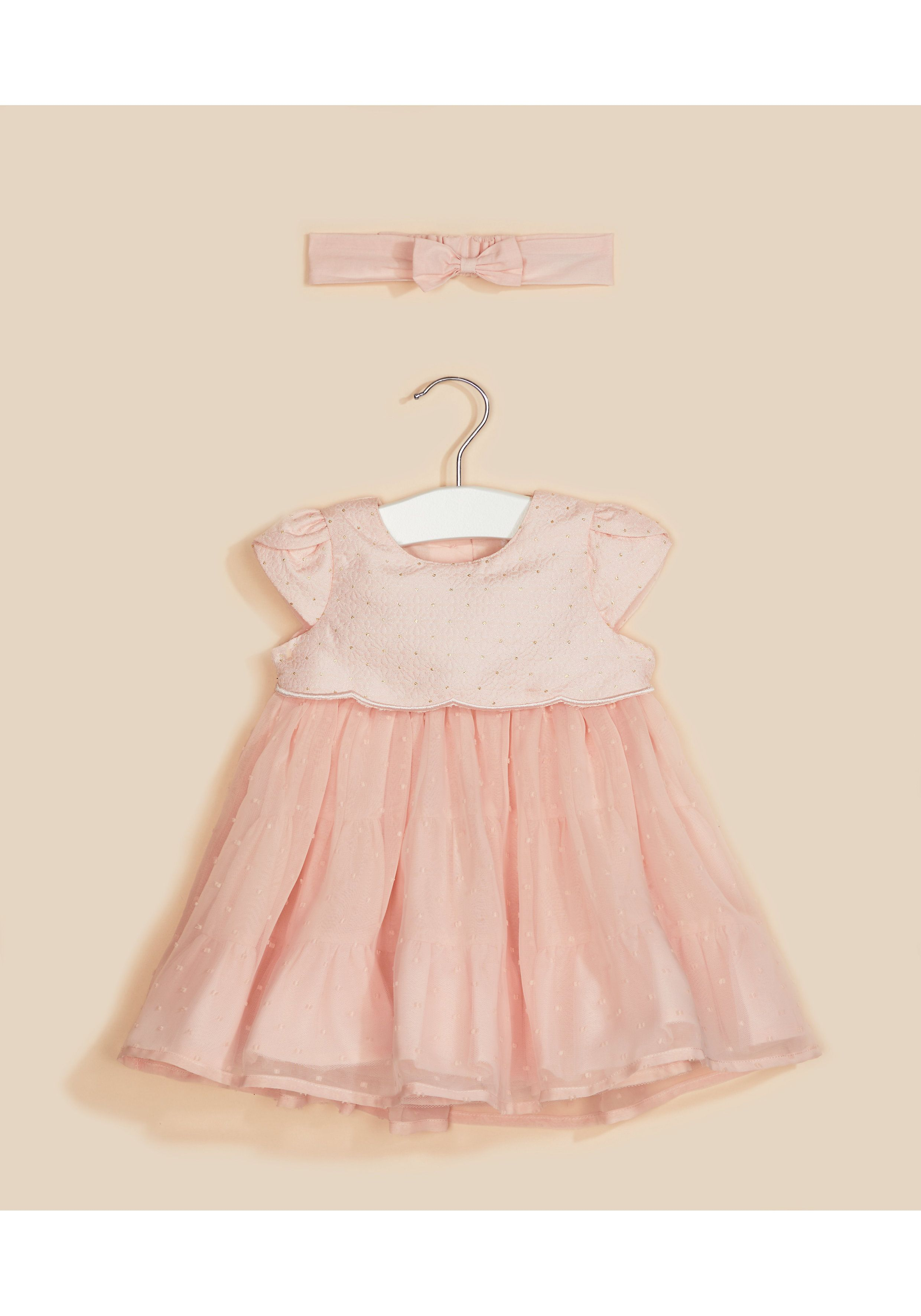 Mothercare | Pink Solid Dress