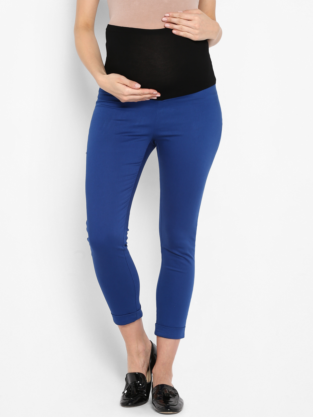 Mothercare | Women Maternity Chinos - Blue