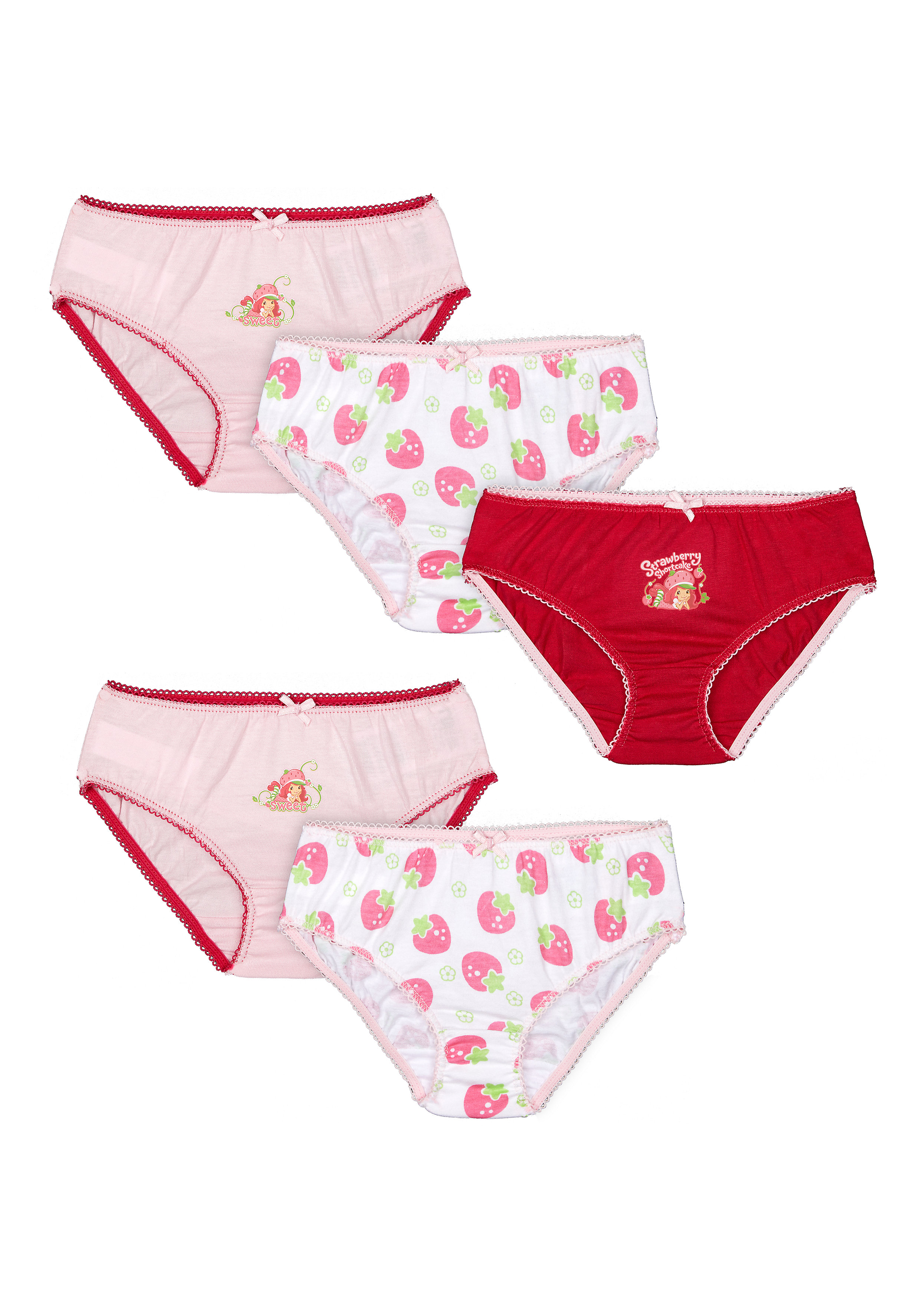 Mothercare | Girls Briefs Printed - Pack Of 5 - Multicolor
