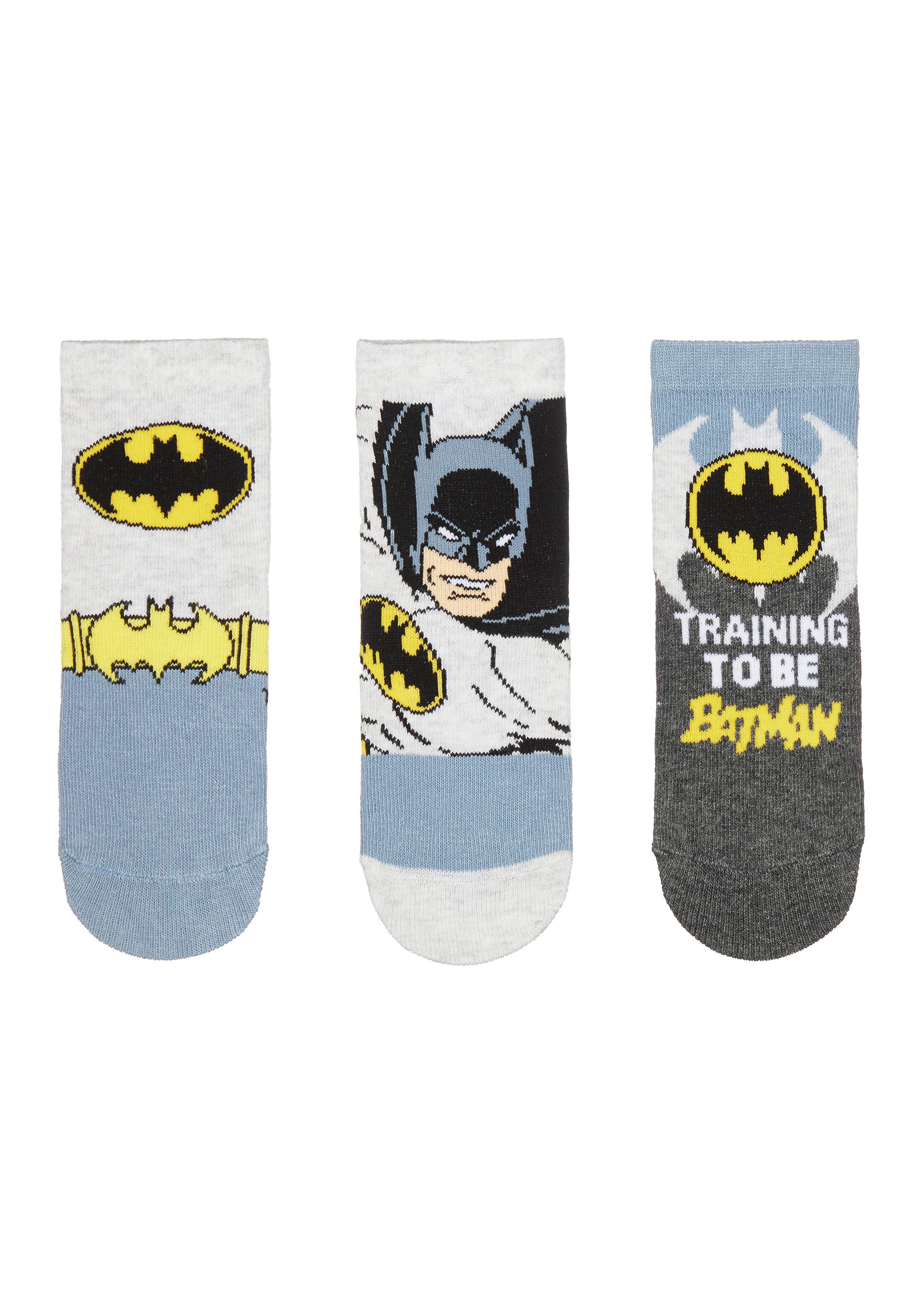 Mothercare | Boys Batman Socks - 3 Pack - Multicolor