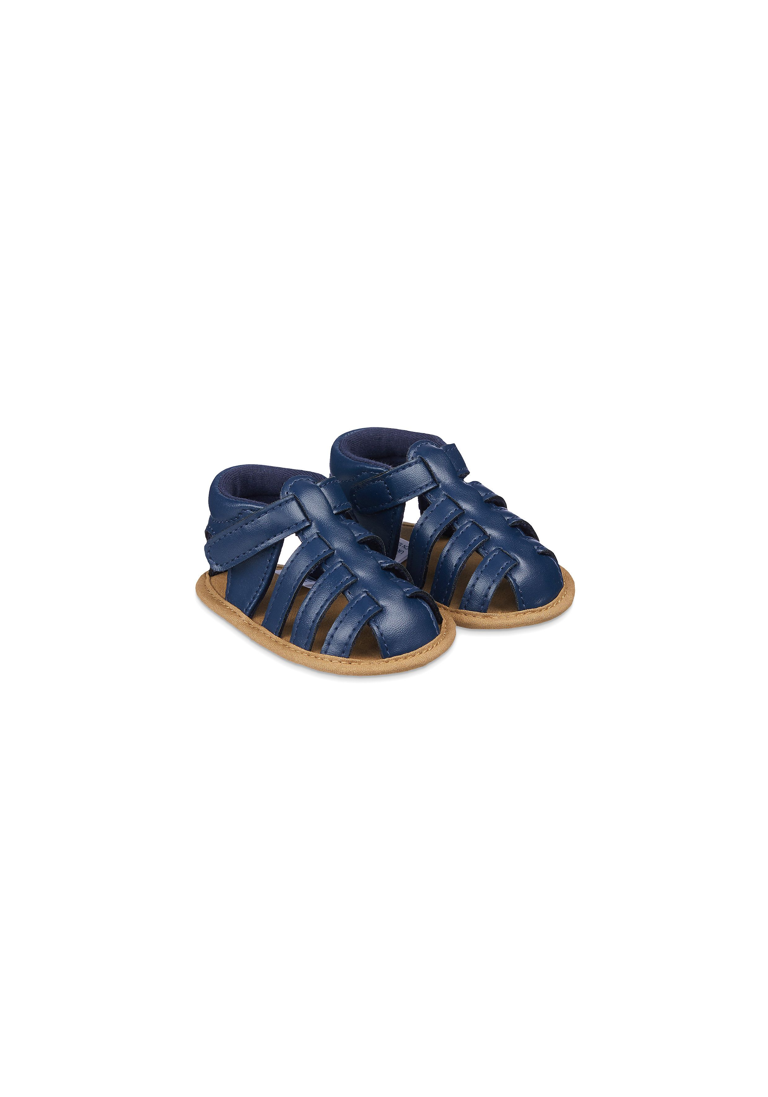 Mothercare | Navy Fisherman Baby Sandals