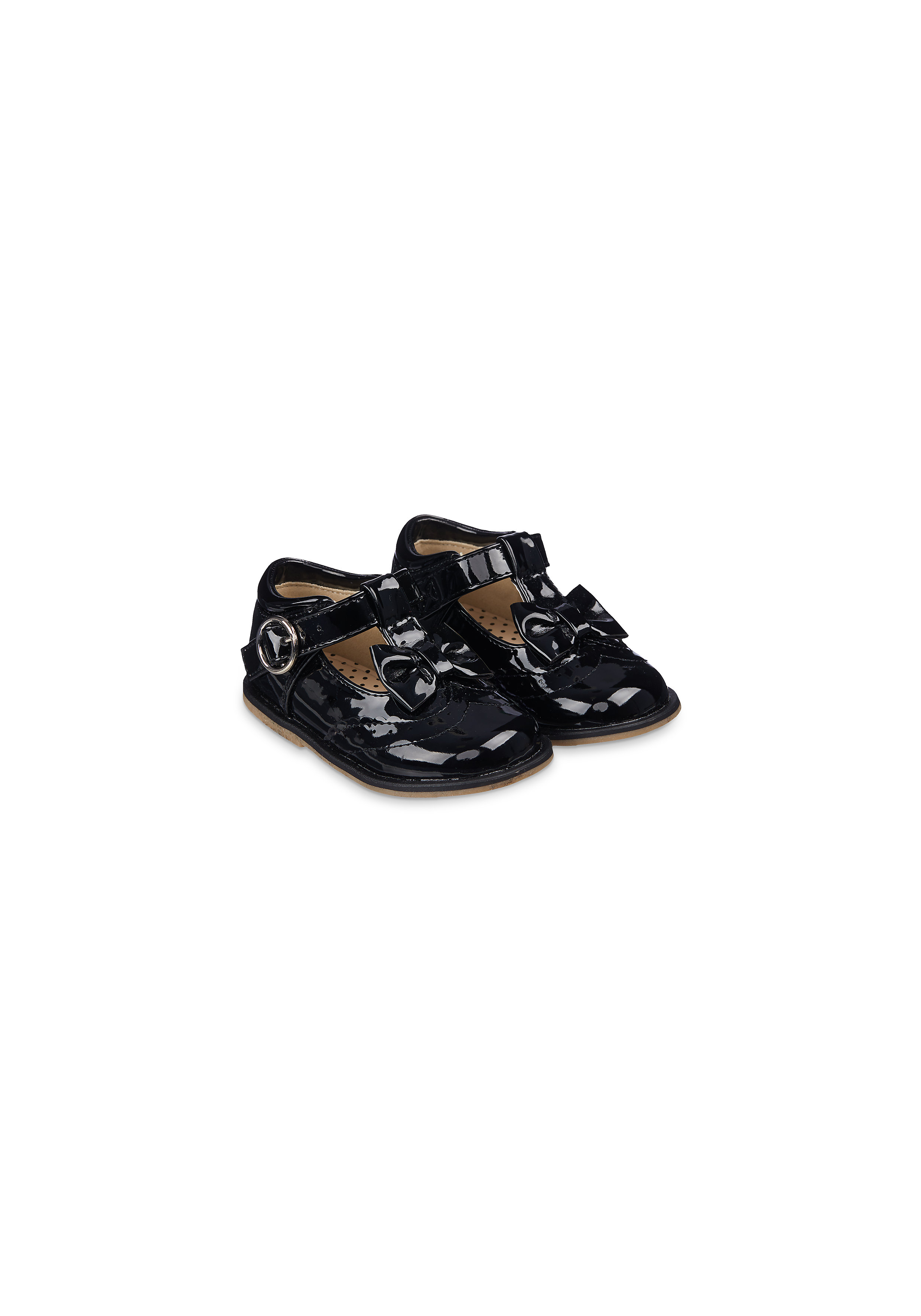 Mothercare | Girls Black Patent Back - To - School Shoes - Black