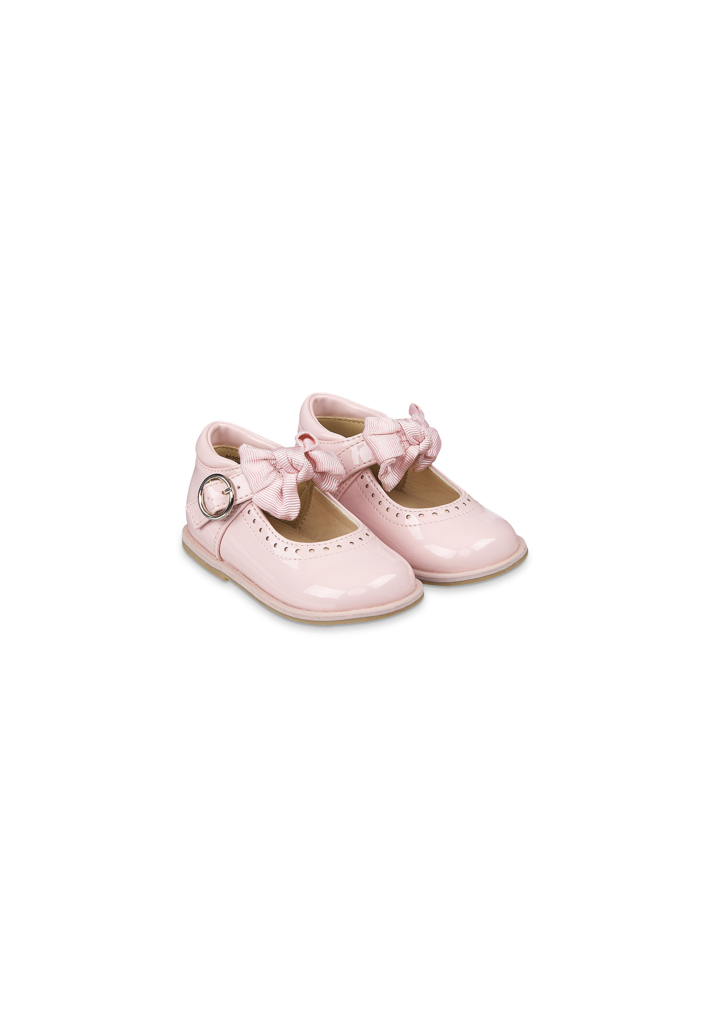 Mothercare | Girls Pink Patent Shoes - Pink