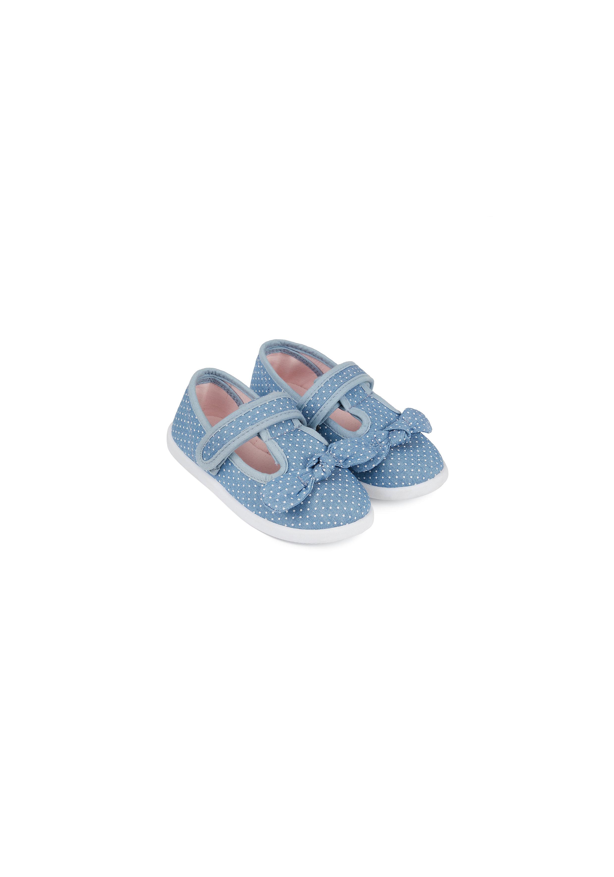 Mothercare | Girls Denim Canvas Shoes