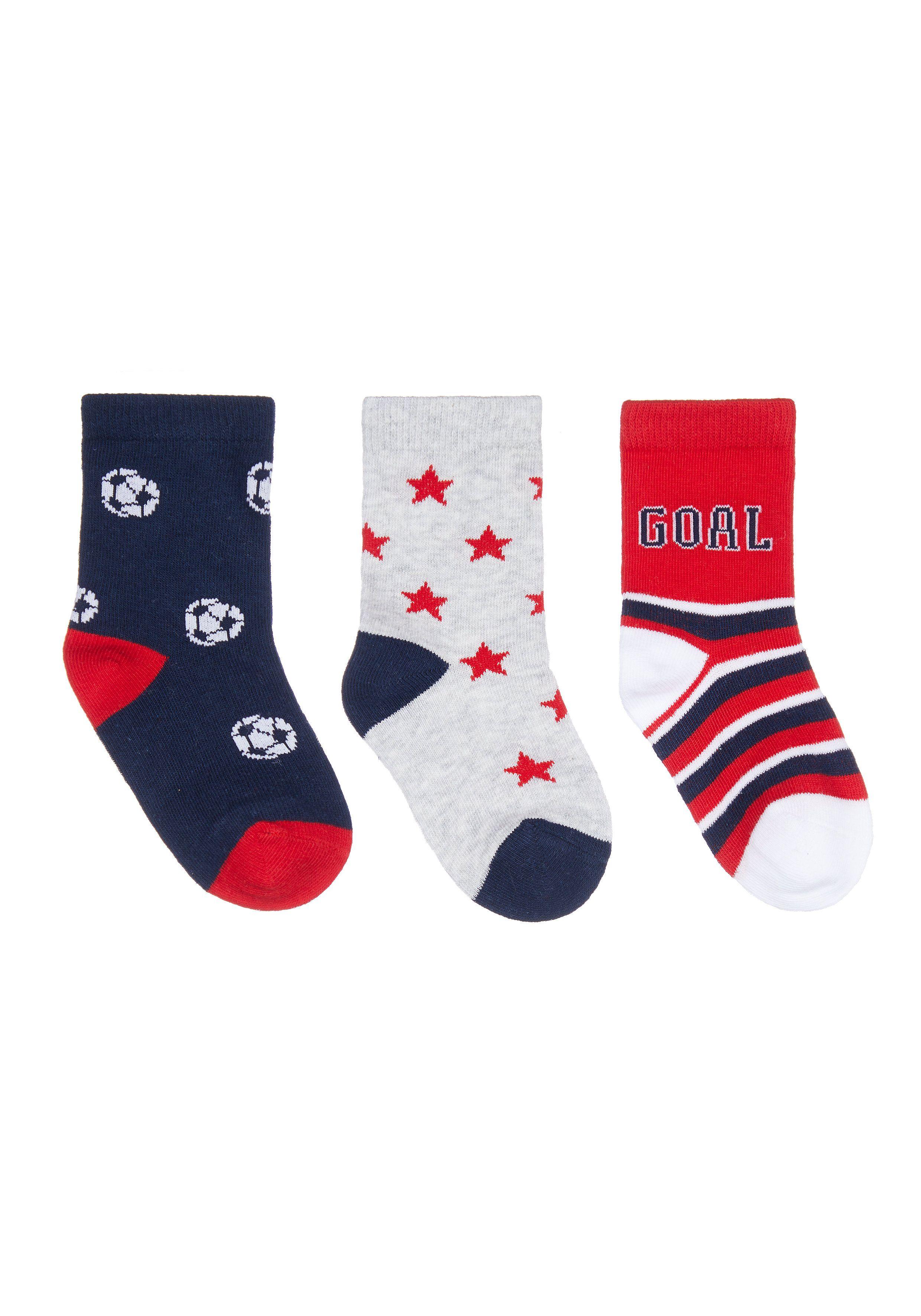Mothercare | Football Socks - 3 Pack