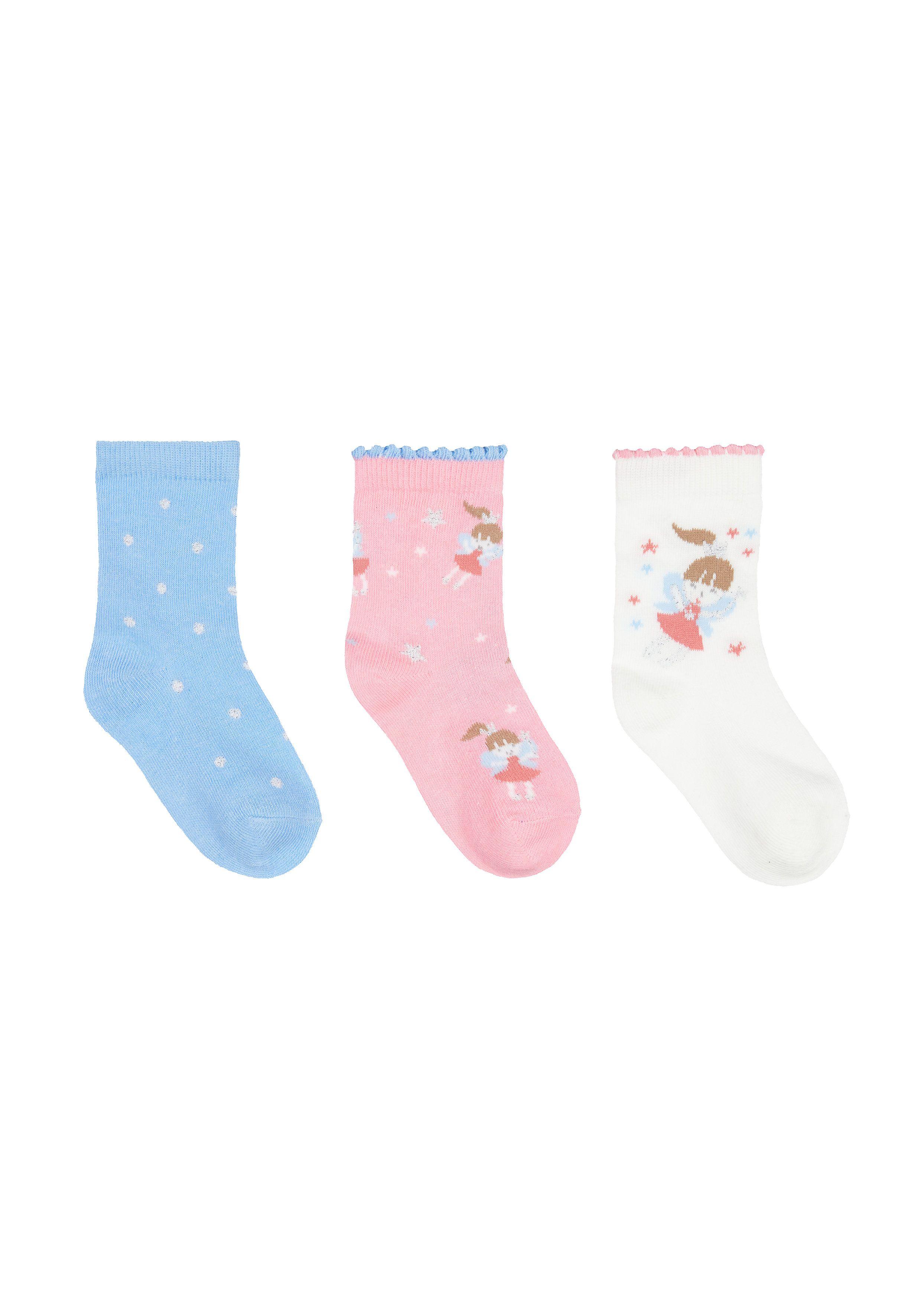 Mothercare | Fairy Socks - 3 Pack