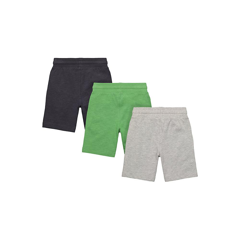 Mothercare | Green and Grey Dinosaur Shorts - Pack of 3