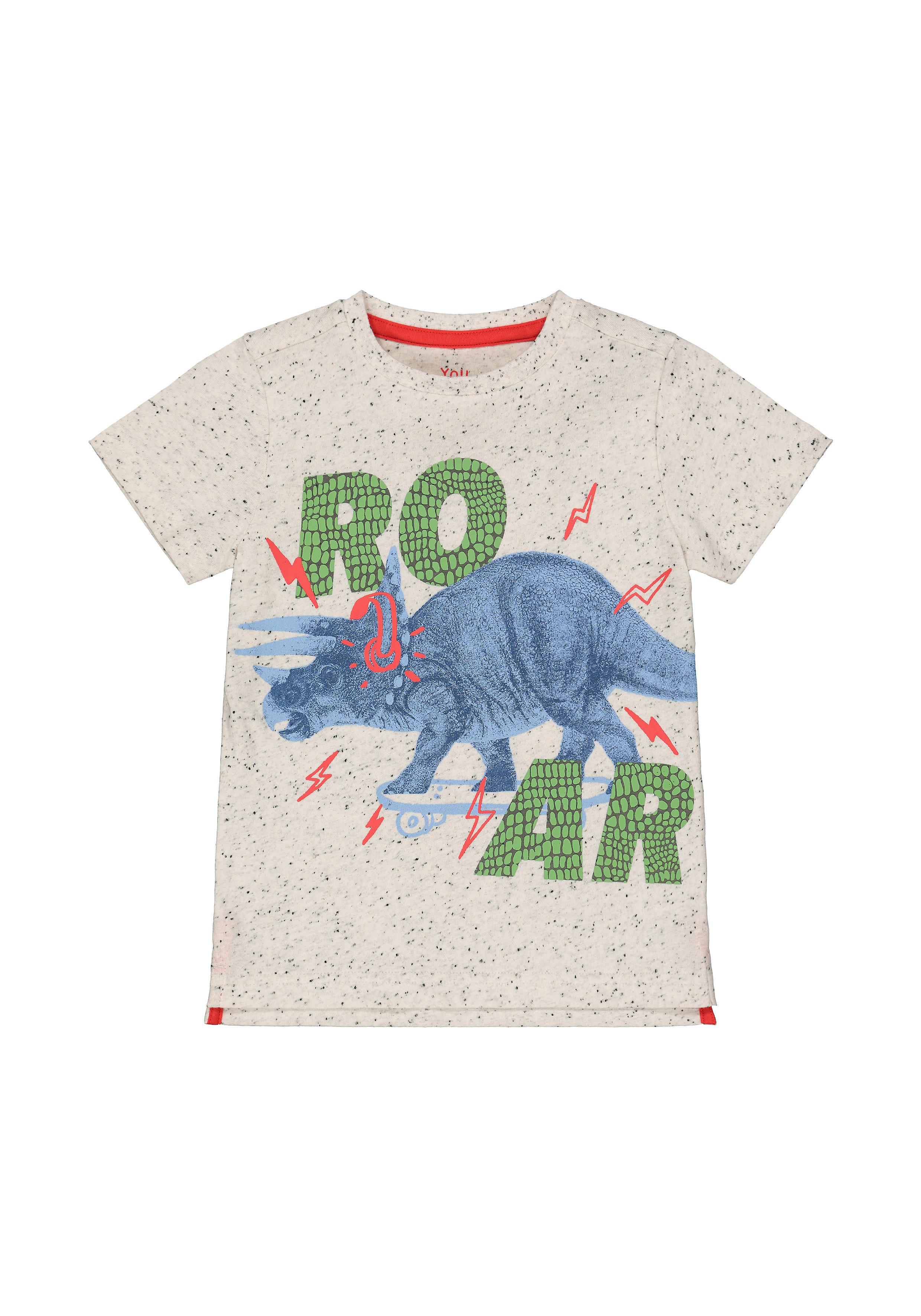 Mothercare | Grey Roar Dinosaur T-Shirt