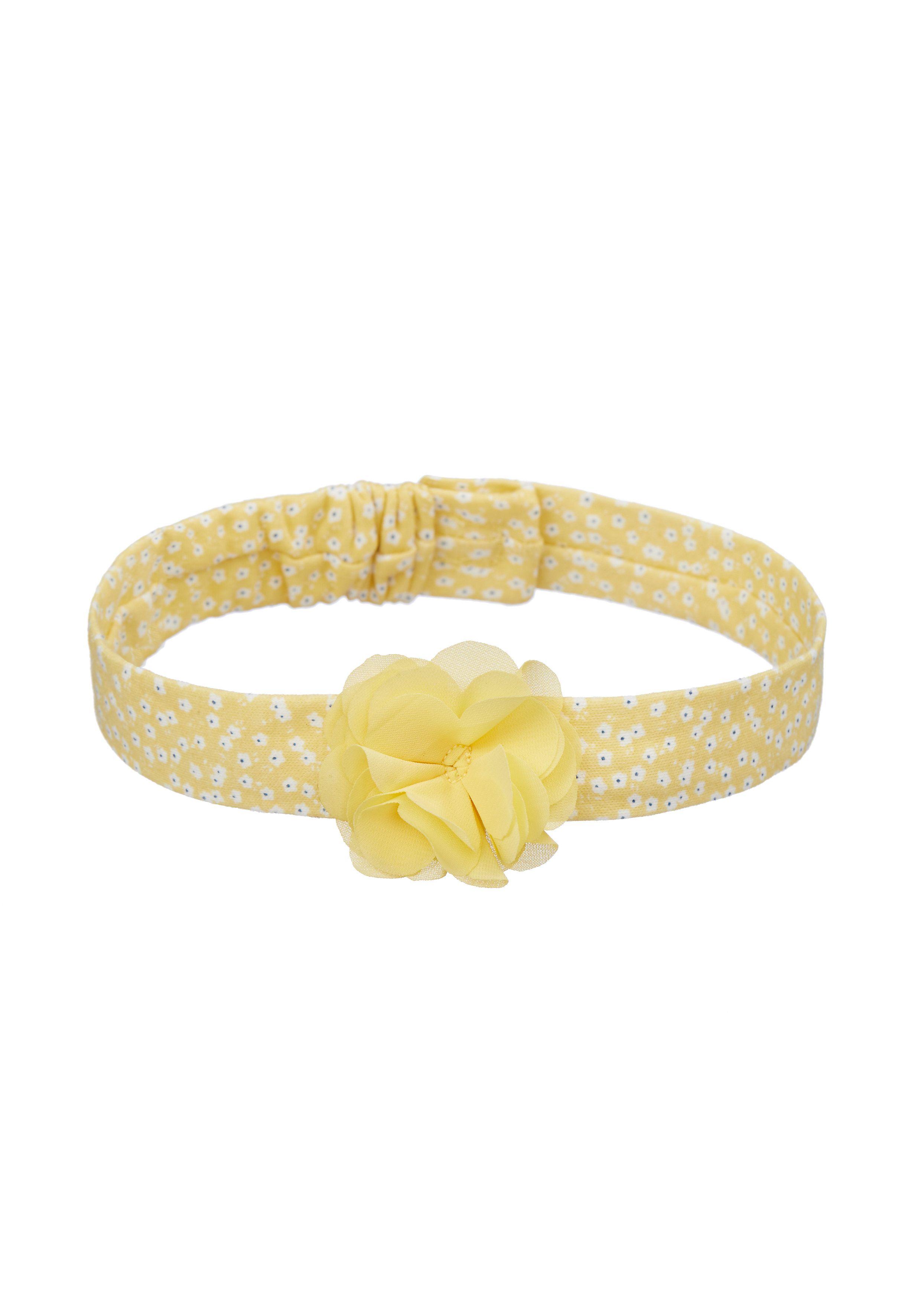 Mothercare | Girls Yellow Corsage Headband - Yellow