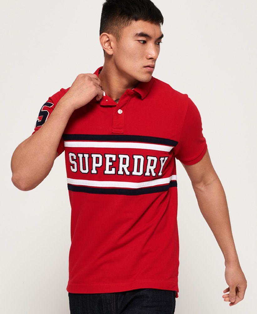 Superdry | CLASSIC INT'L S/S APPLQUE POLO