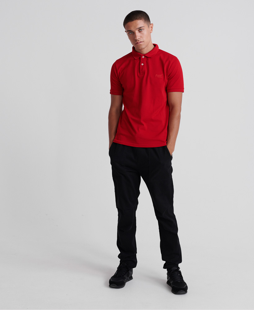 Superdry | Superdry Red Polo T-Shirt