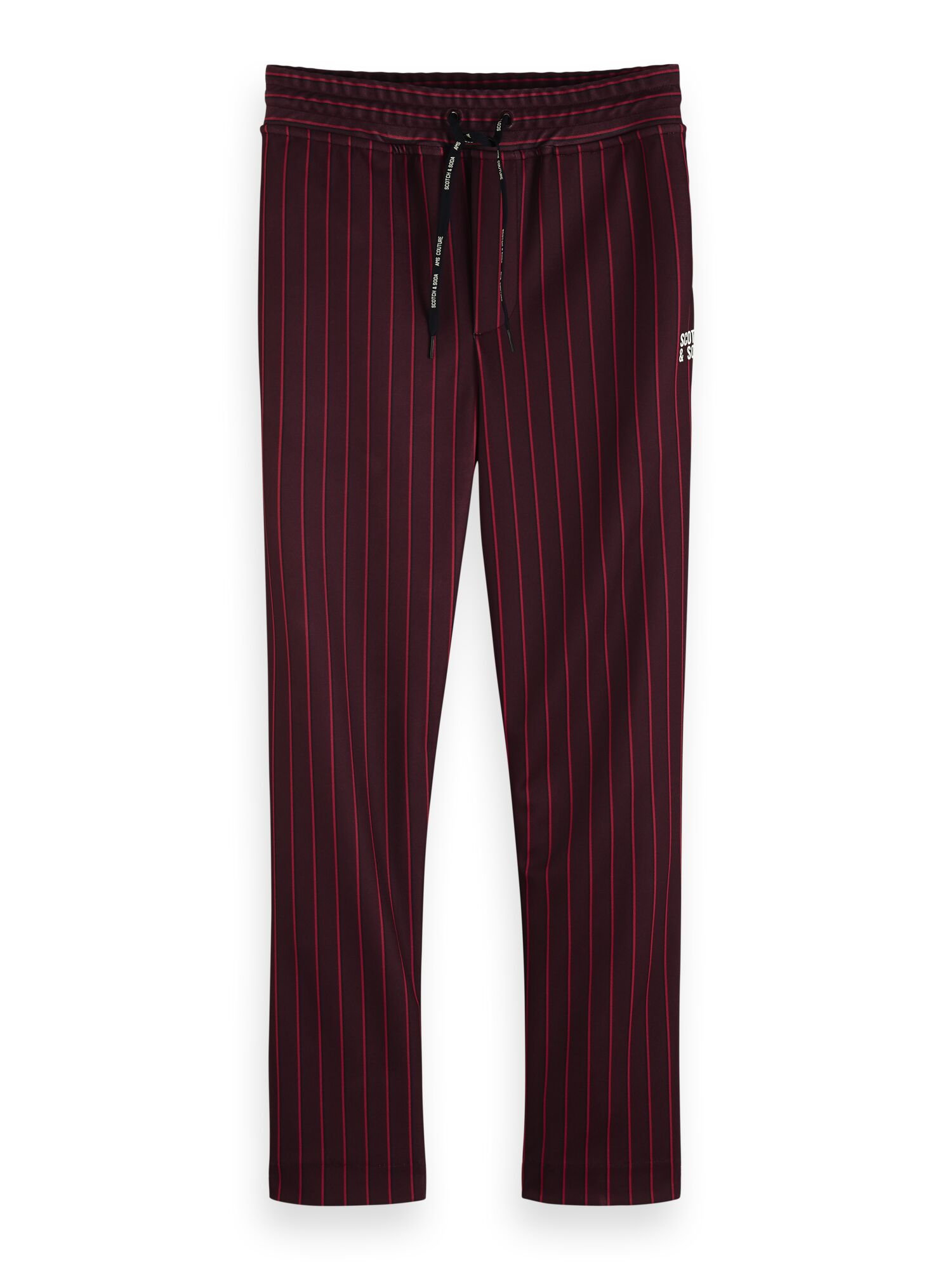 Scotch & Soda   Chic sweat pants in pique structured quality