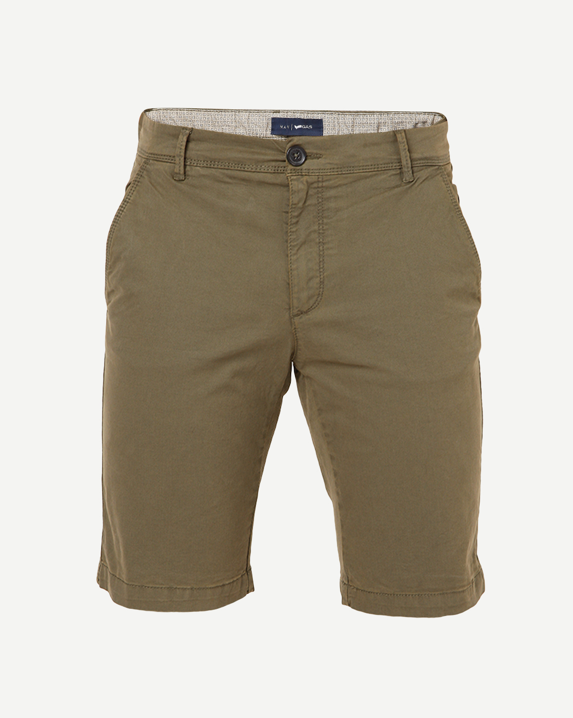 GAS | Men's Grimm Short Up Green Solid Short