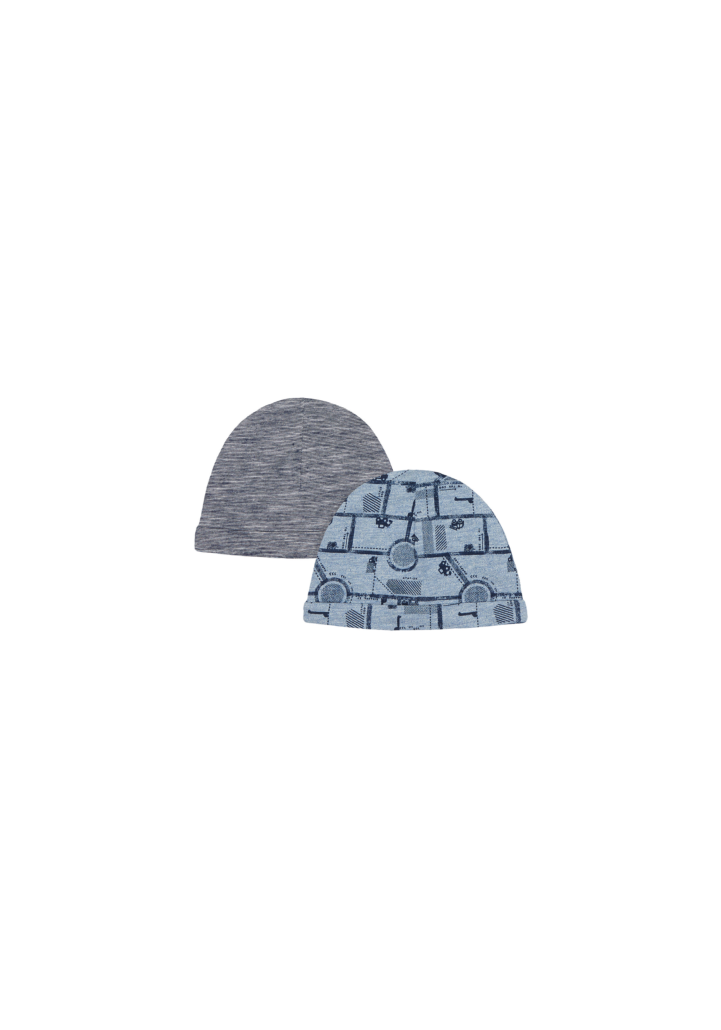 Mothercare | Boys Hats  - Pack Of 2 - Navy