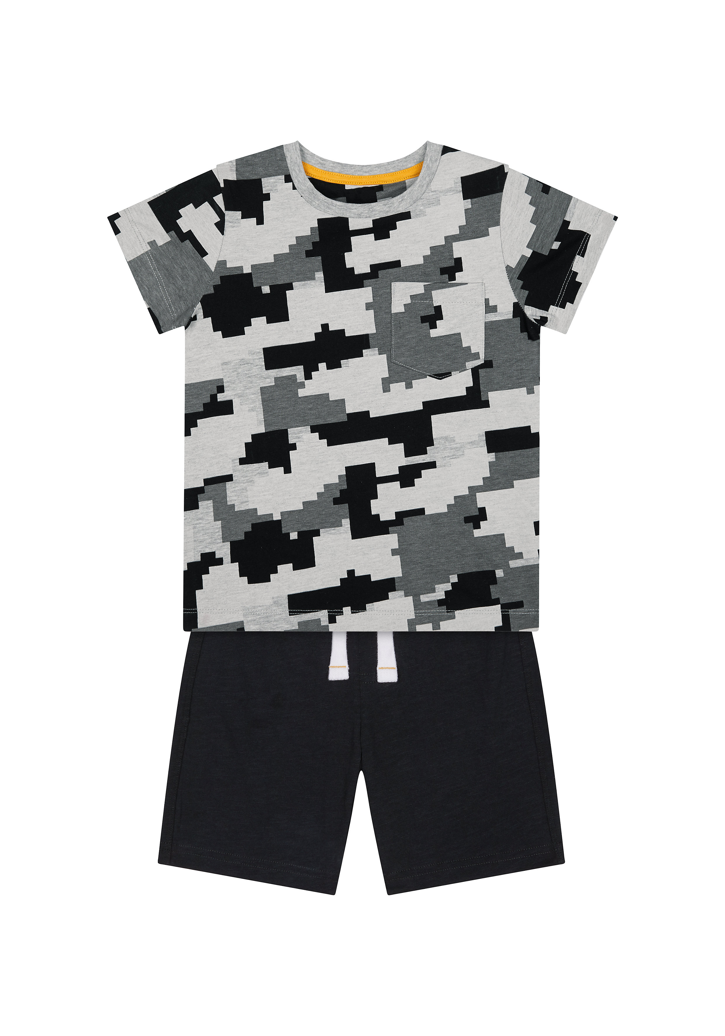 Mothercare | Boys Half Sleeves Shorts Sets  - Pack Of 2 - Multicolor
