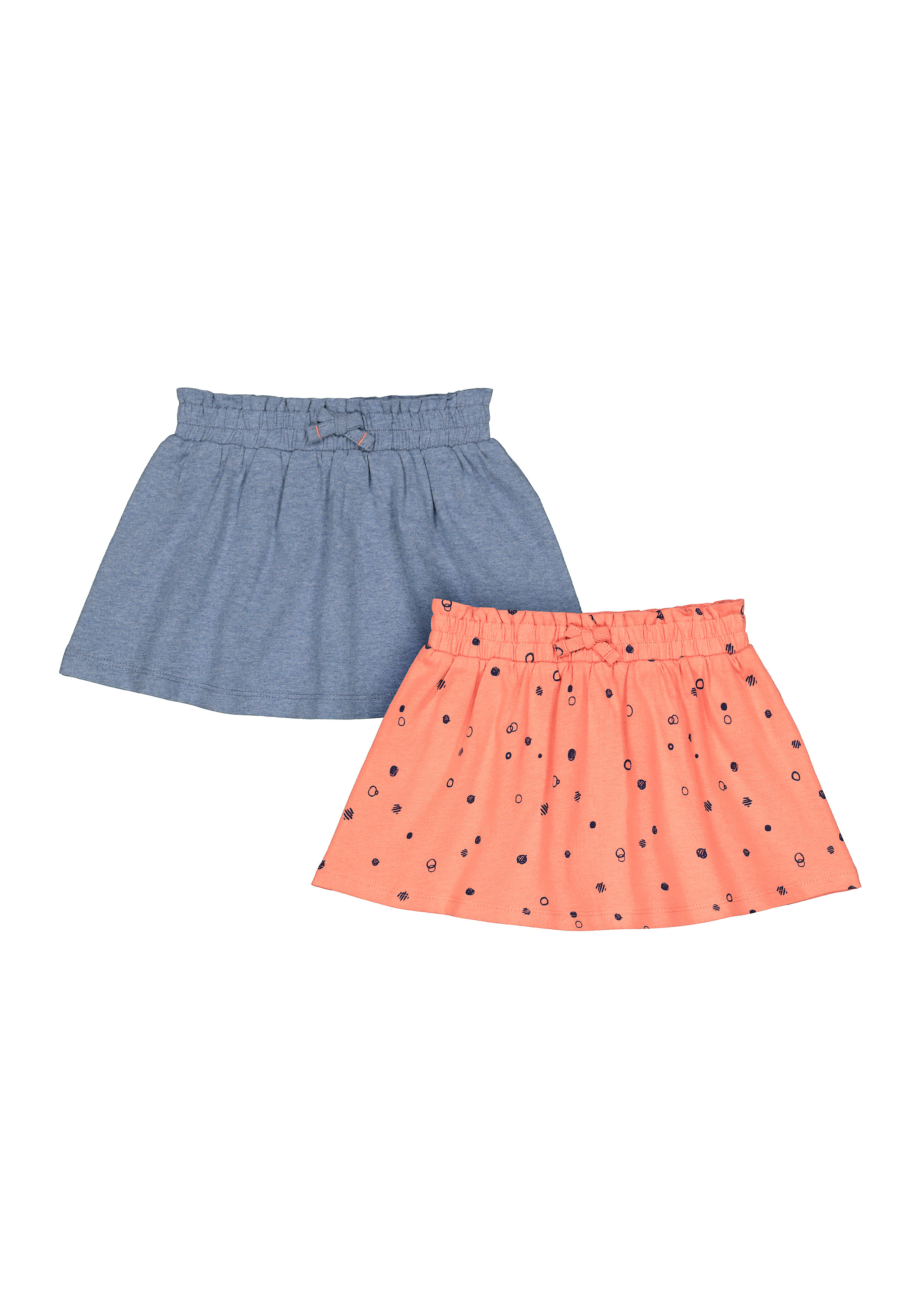 Mothercare | Girls Printed Skirt - Pack Of 2 - Multicolor