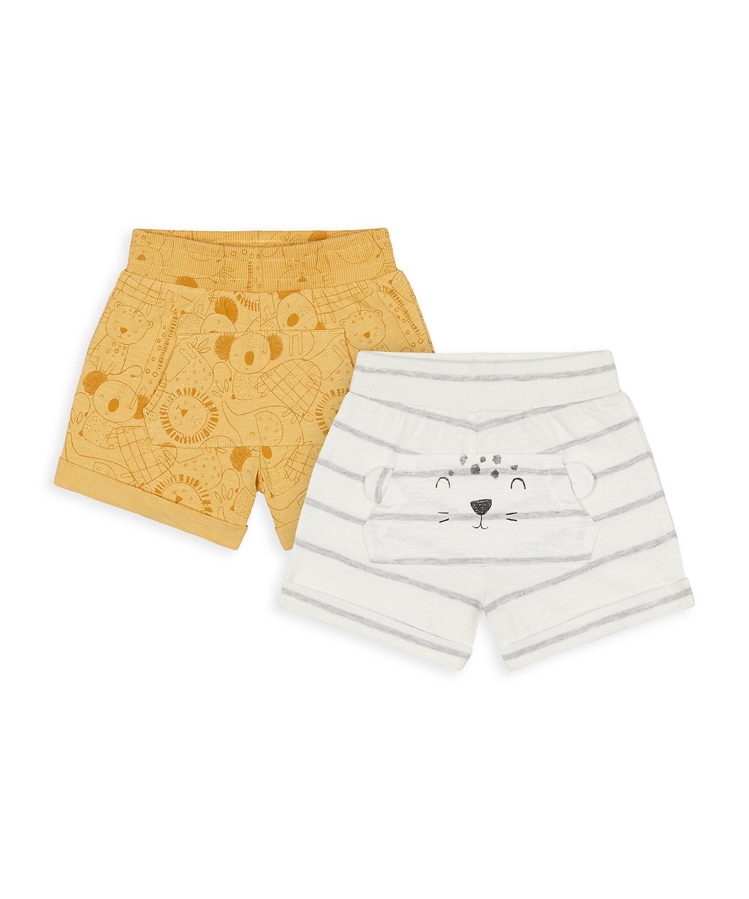 Mothercare | Boys Shorts Printed - Yellow