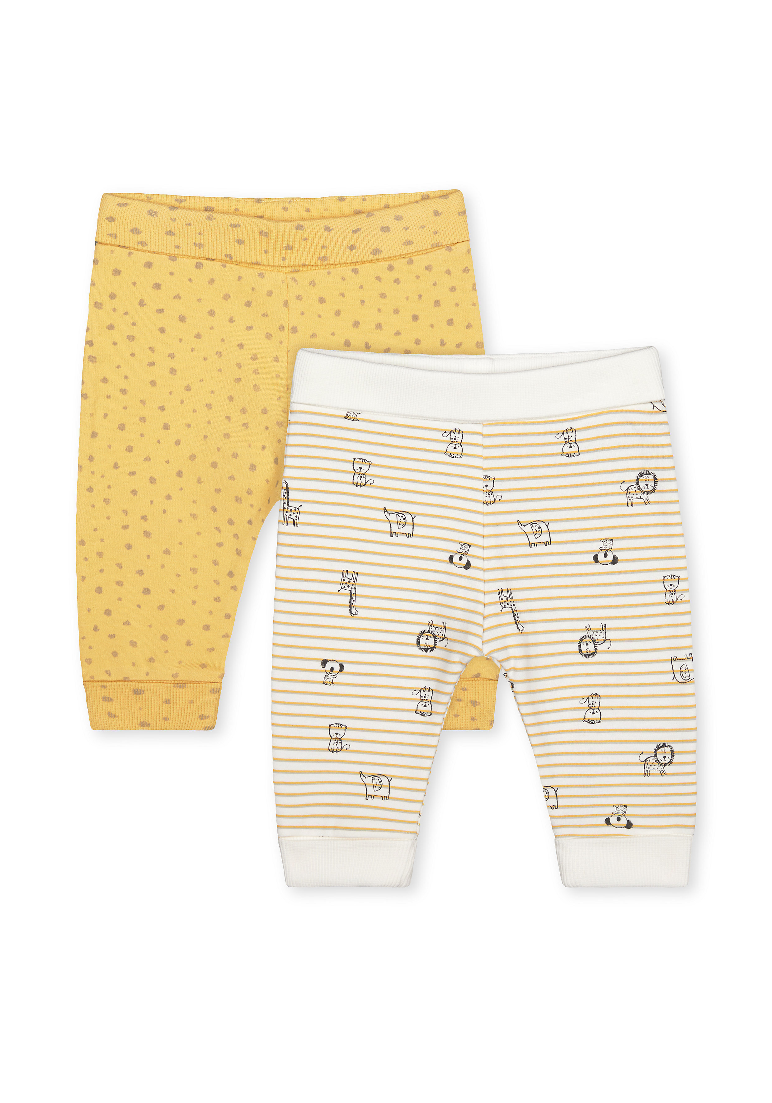 Mothercare | Boys Joggers  - Pack Of 2 - Yellow
