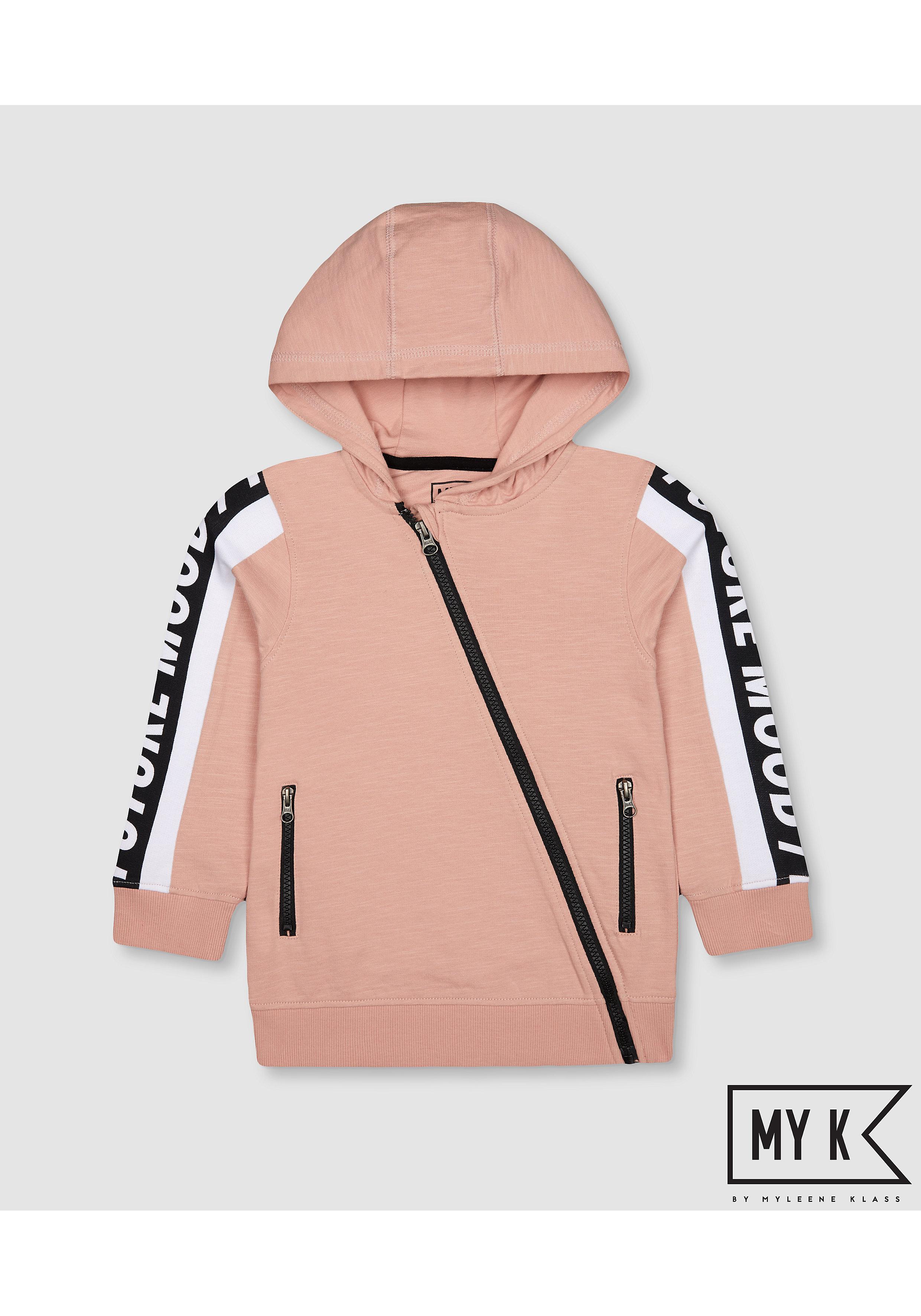 Mothercare | Boys Full Sleeves Sweatshirt Text Print - Pink