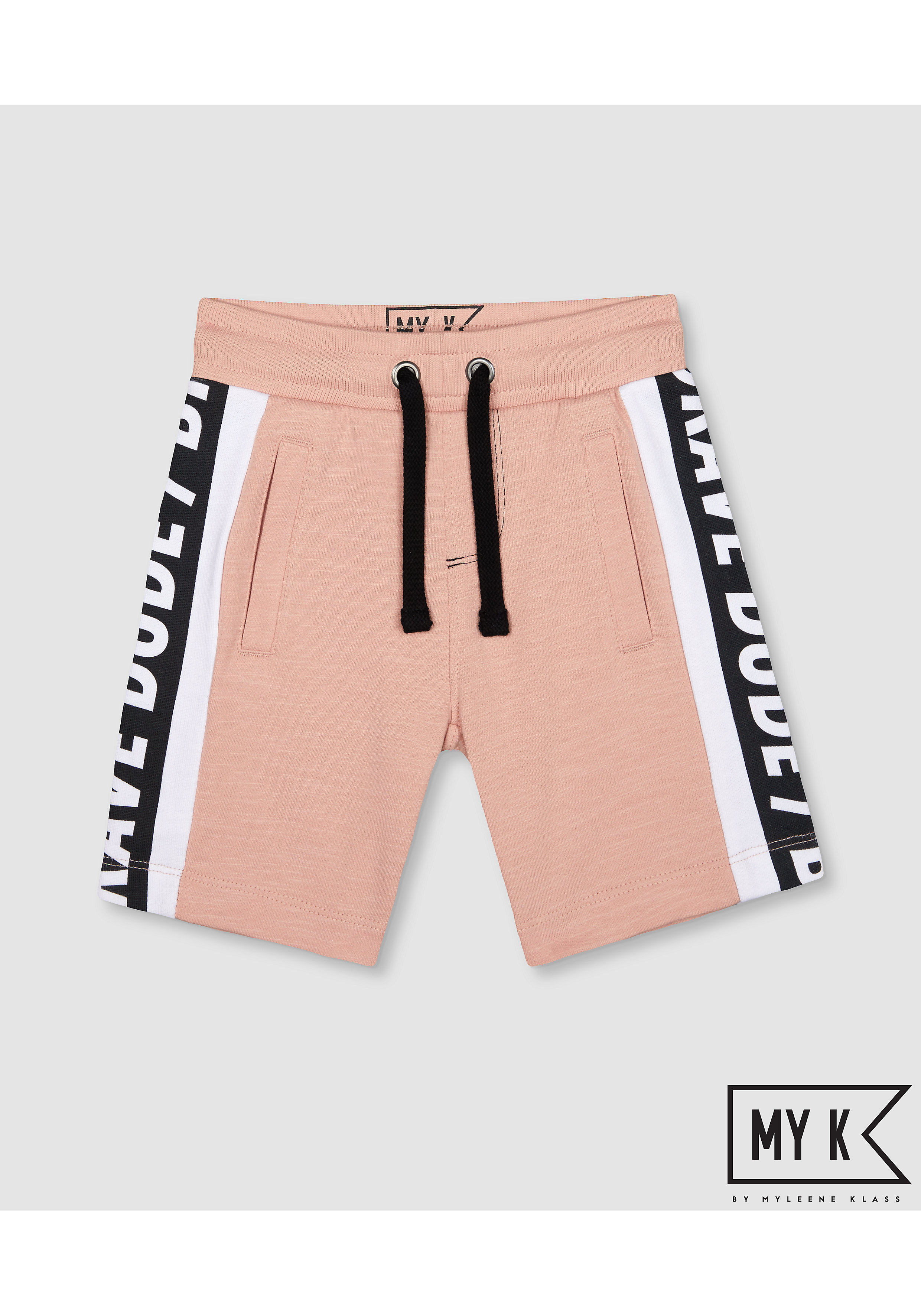 Mothercare | Boys Shorts With Side Tape - Pink