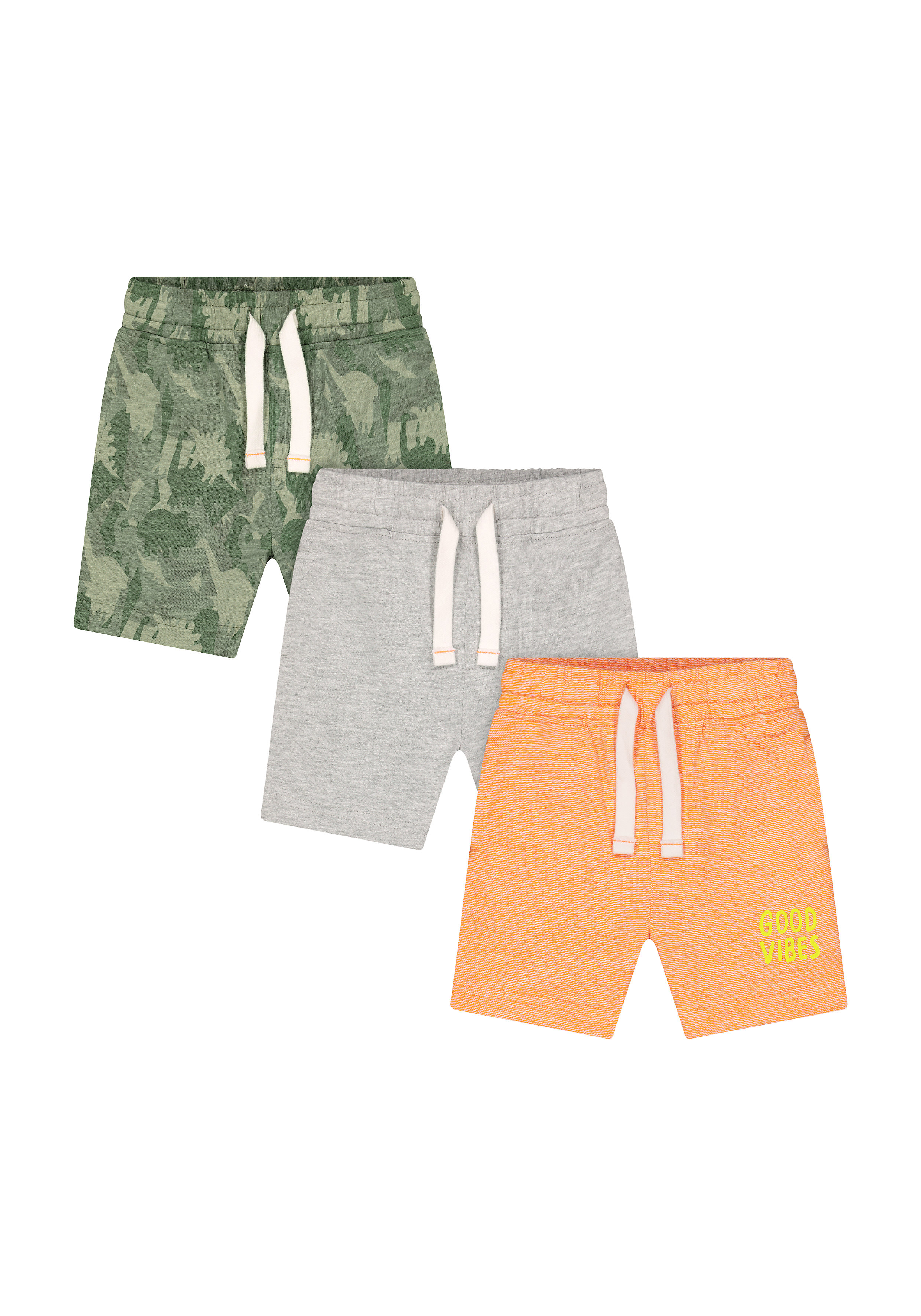 Mothercare | Boys Shorts Printed - Pack Of 3 - Multicolor