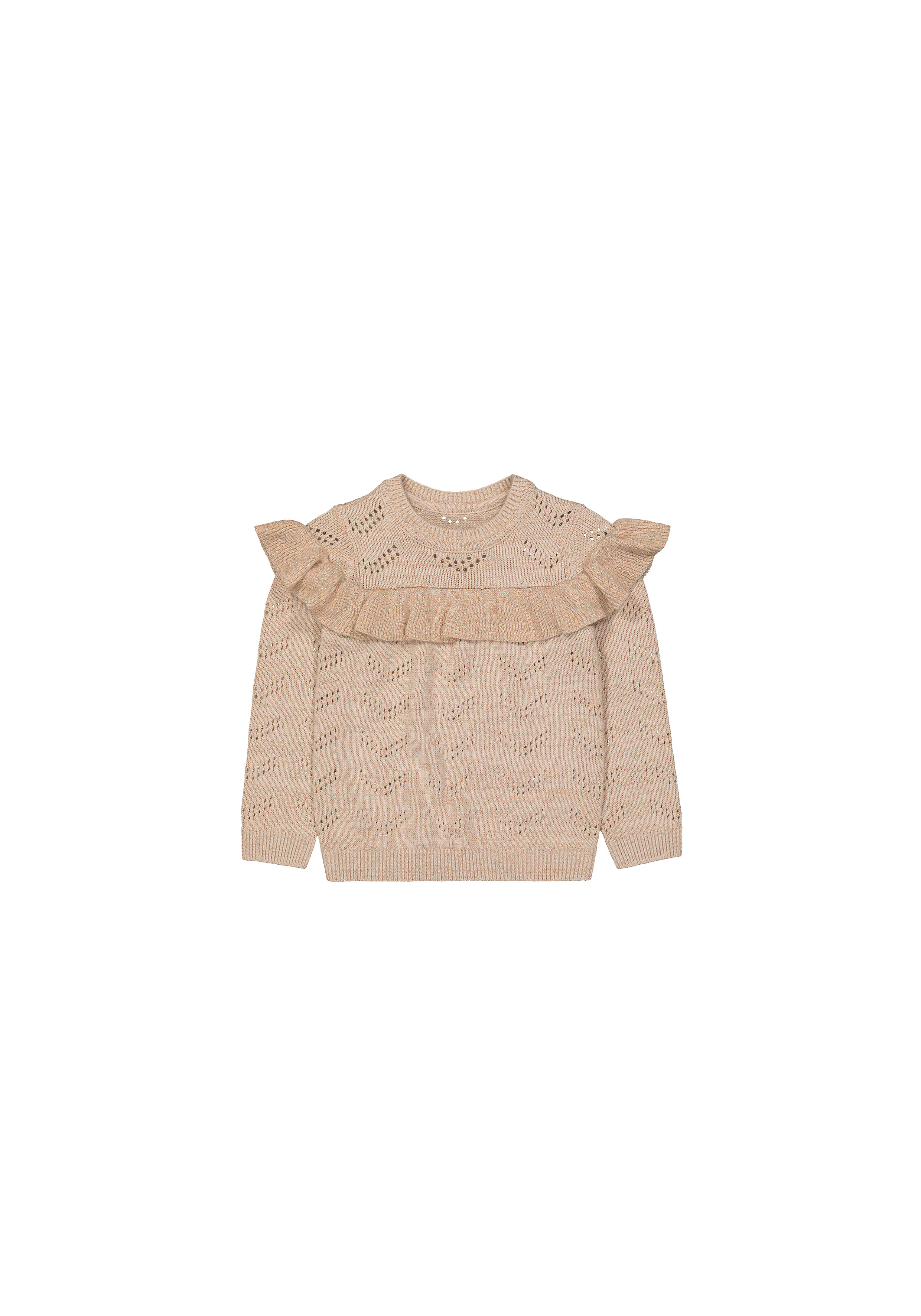 Mothercare | Girls Full Sleeves Sweaters  - Cream
