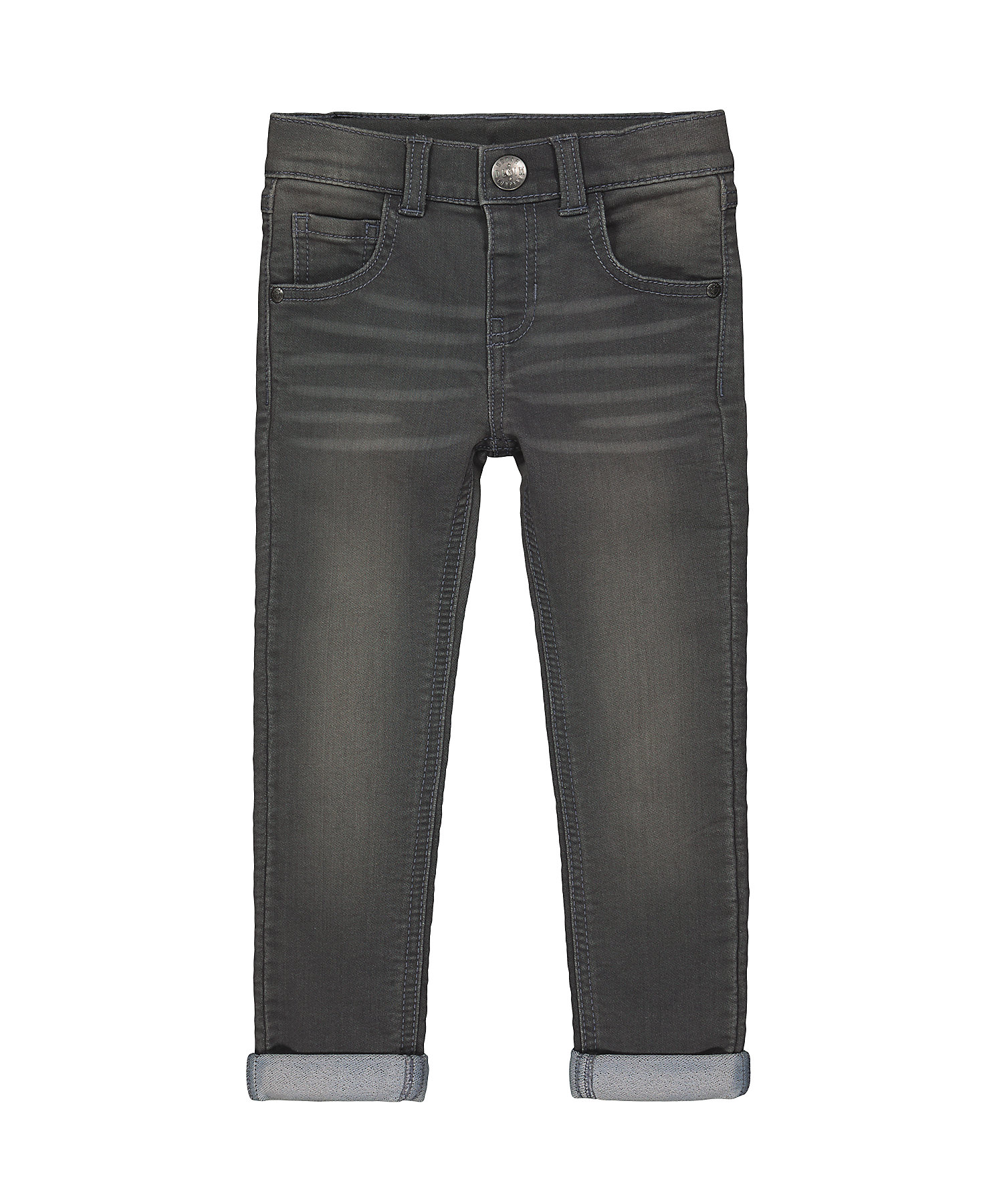 Mothercare | Boys Jeans Crease Detailing - Grey