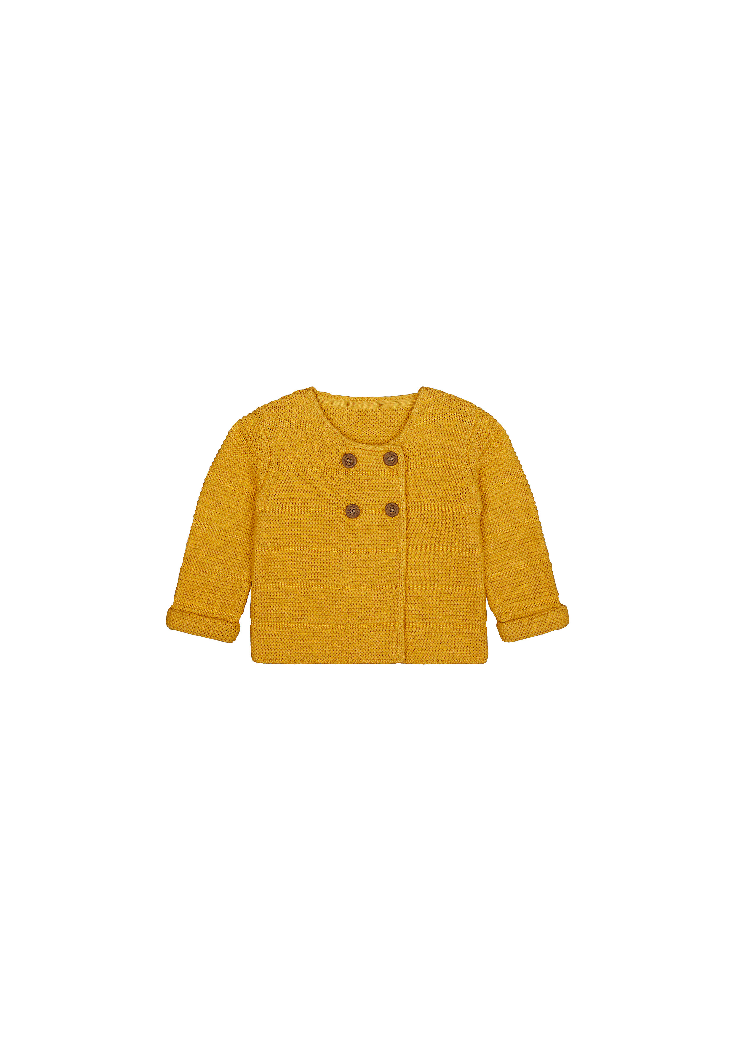 Mothercare | Girls Full Sleeves Sweaters  - Yellow