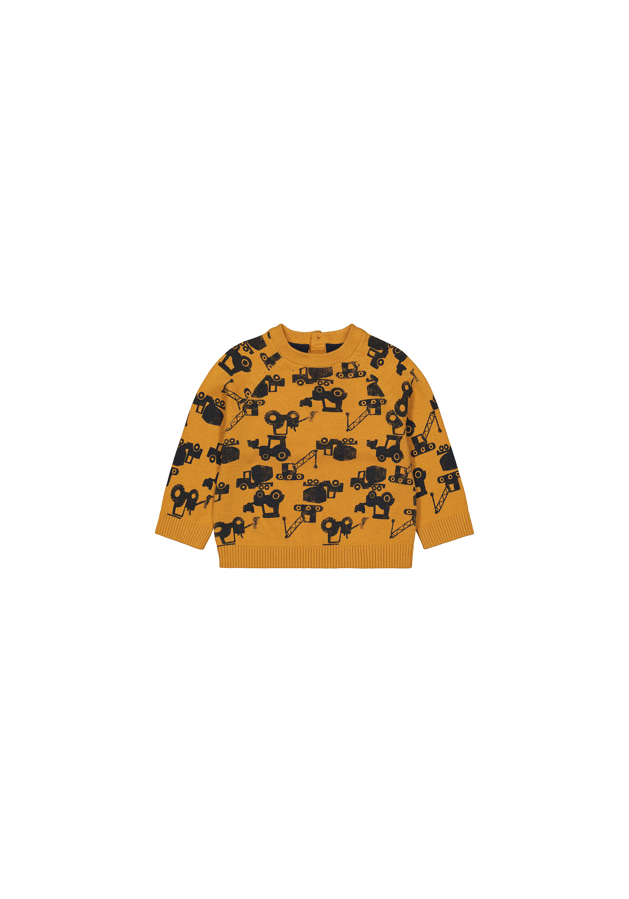 Mothercare | Boys Full Sleeves Sweaters  - Mustard