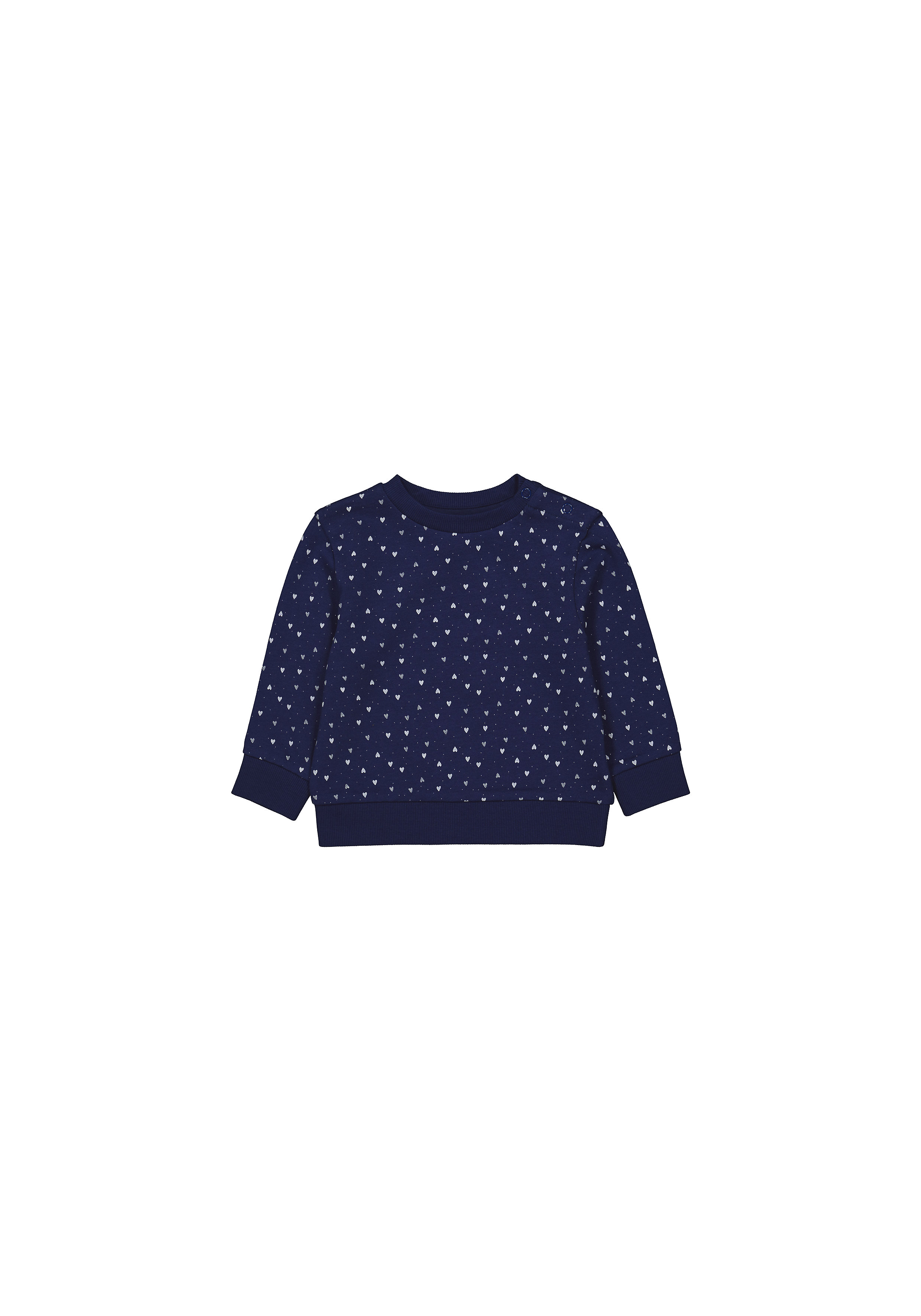 Mothercare | Girls Full Sleeves Sweatshirts  - Navy