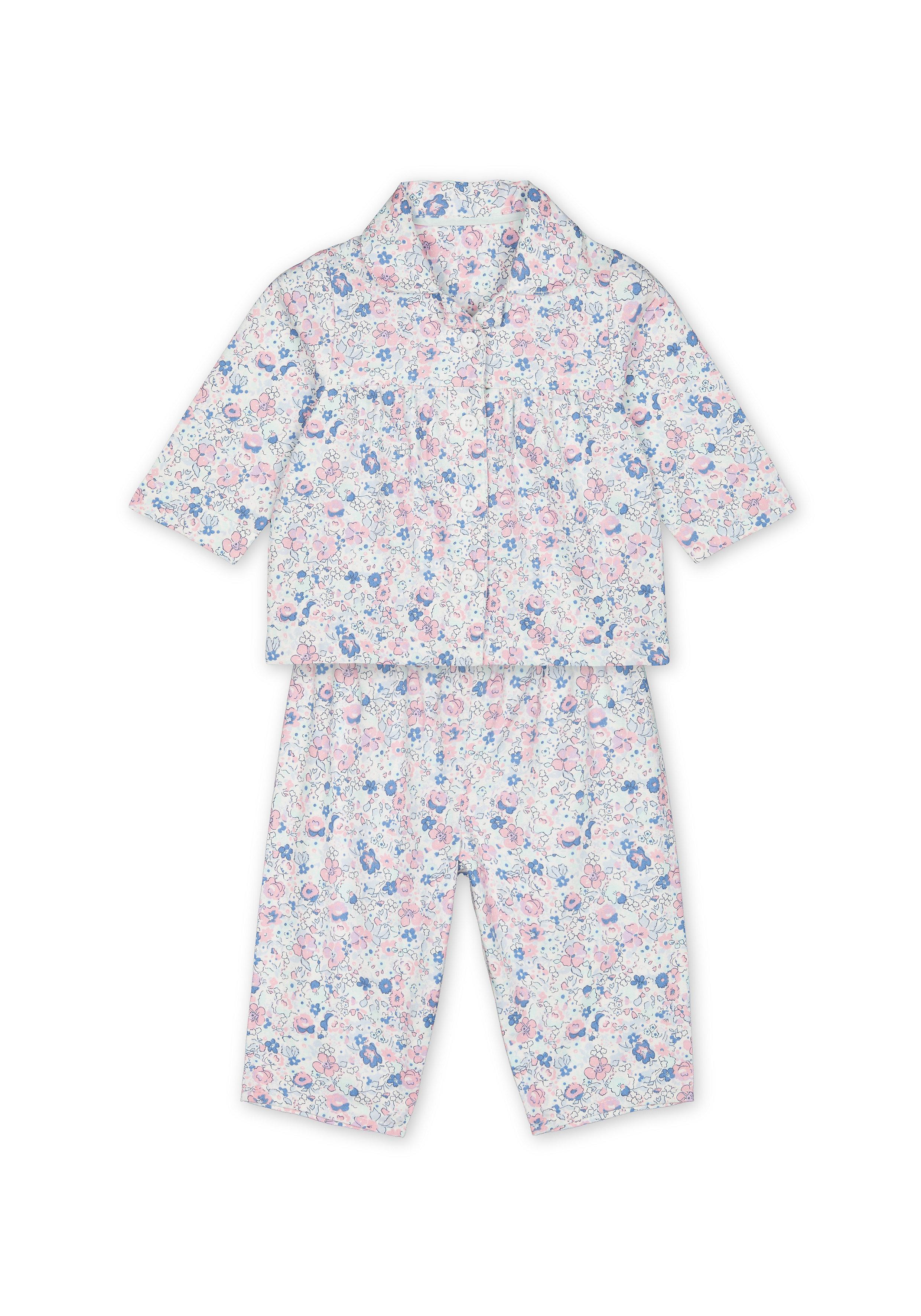 Mothercare | Girls Full sleeves Floral print Pyjamas - Multicolor