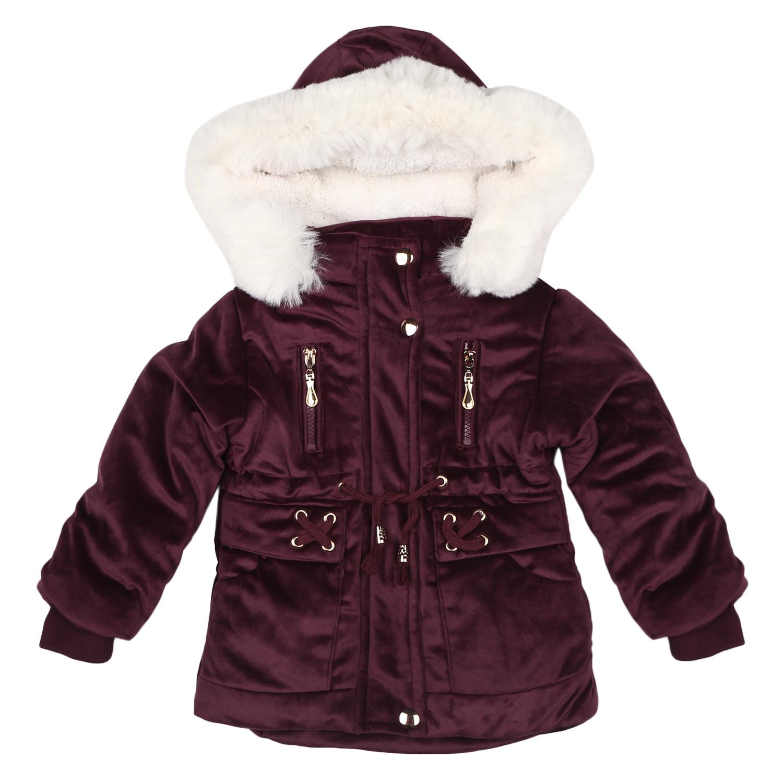 Mothercare | Girls Full sleeves Jacket - Burgundy