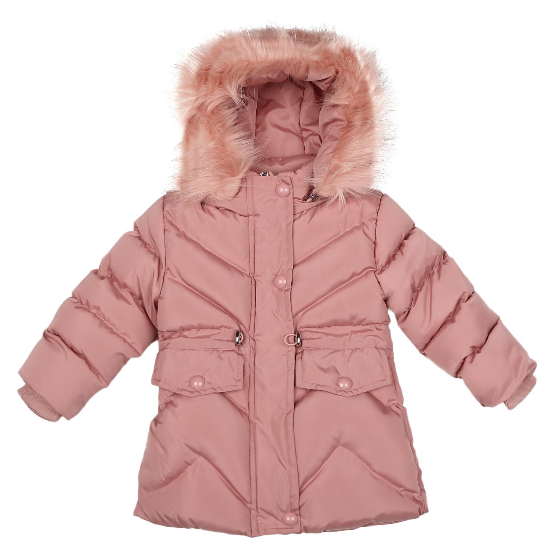 Mothercare   Girls Full sleeves Jacket - Dark Pink