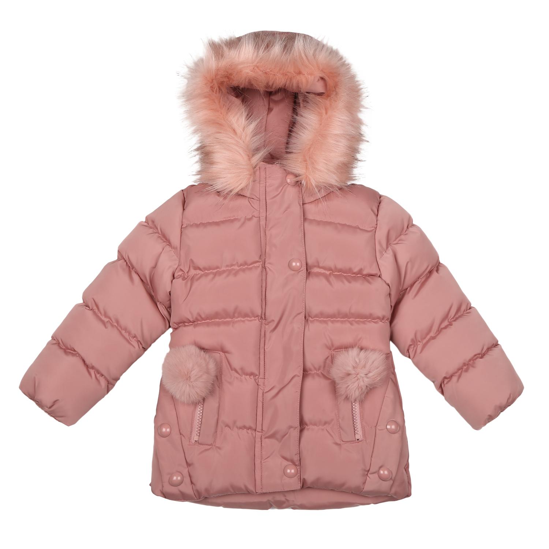 Mothercare | Girls Full sleeves Jacket - Dark Pink