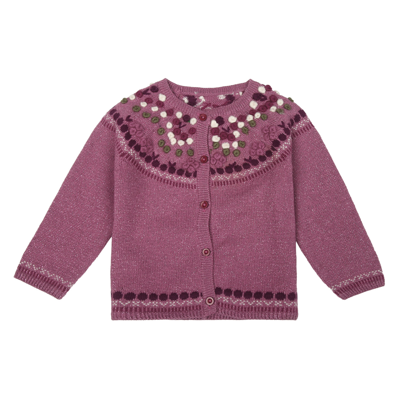 Mothercare | Girls Full Sleeves Sweater - Purple