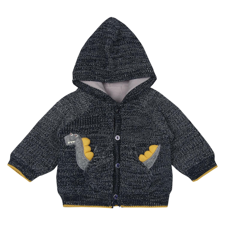 Mothercare | Boys Full Sleeves Printed Sweatshirt - Navy
