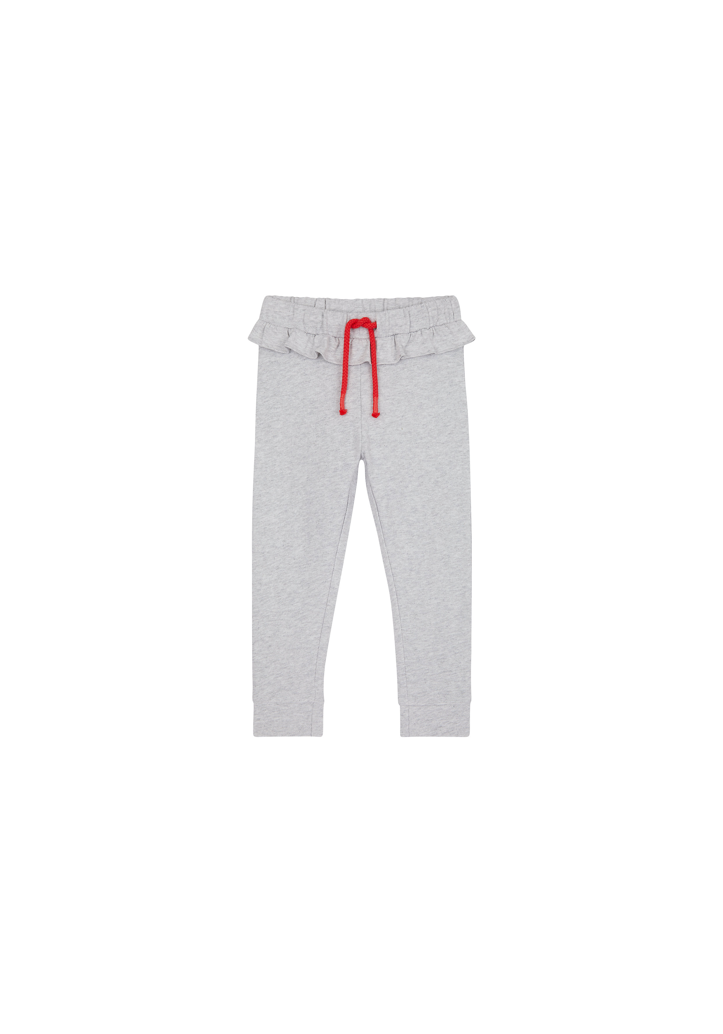 Mothercare | Girls Joggers Frill Detail - Grey