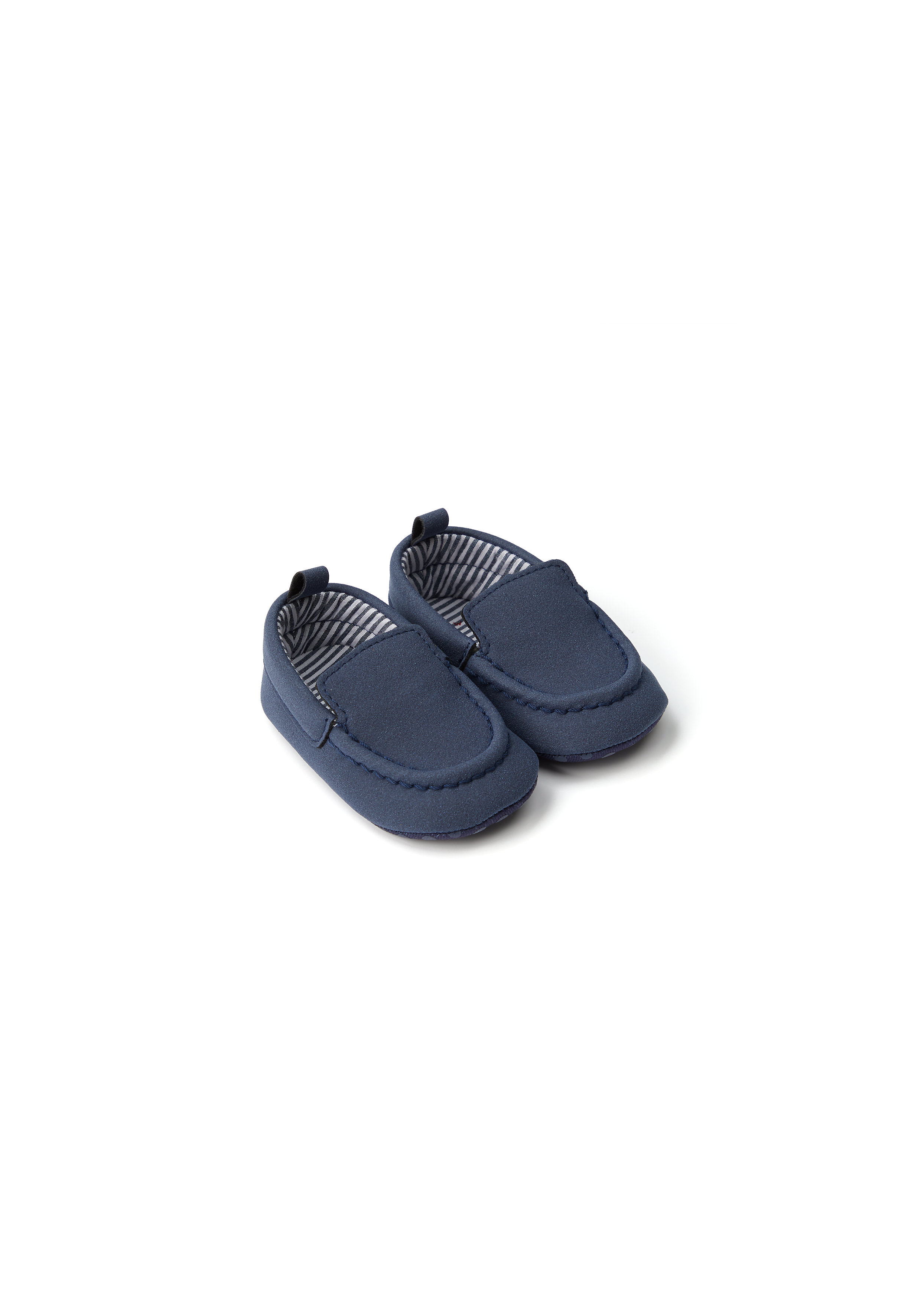 Mothercare | Boys Pram Shoes  - Navy