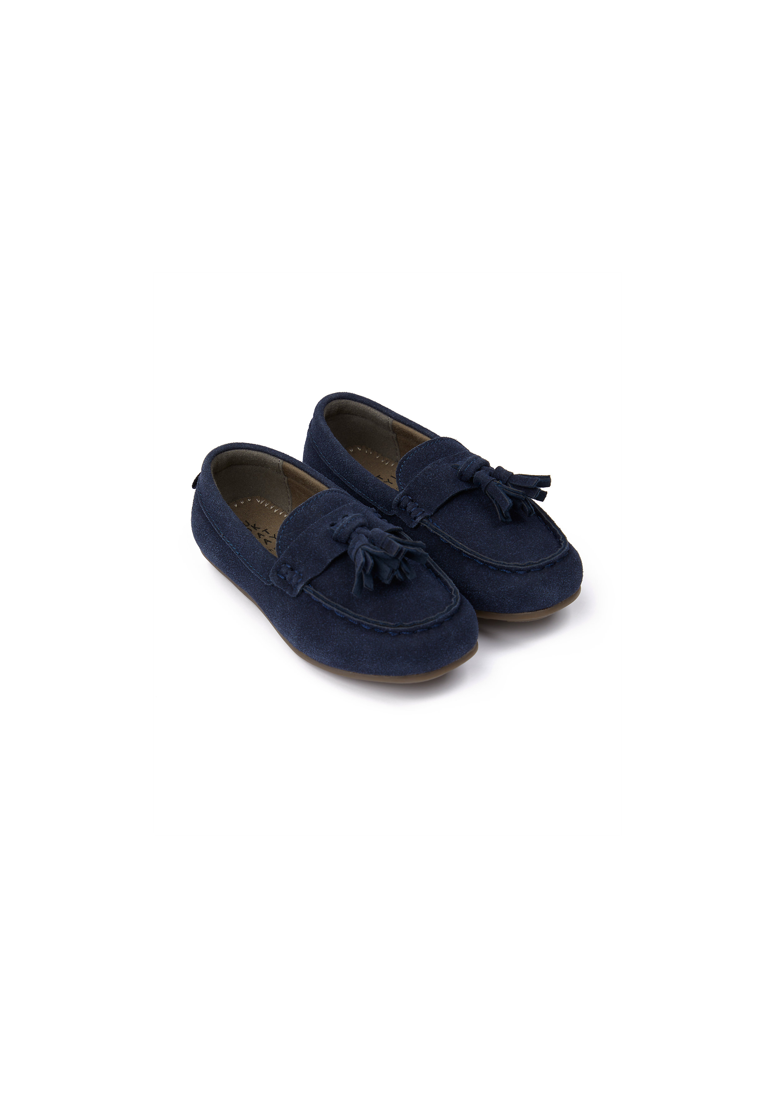 Mothercare | Boys Loafer Shoes Tasseled - Navy