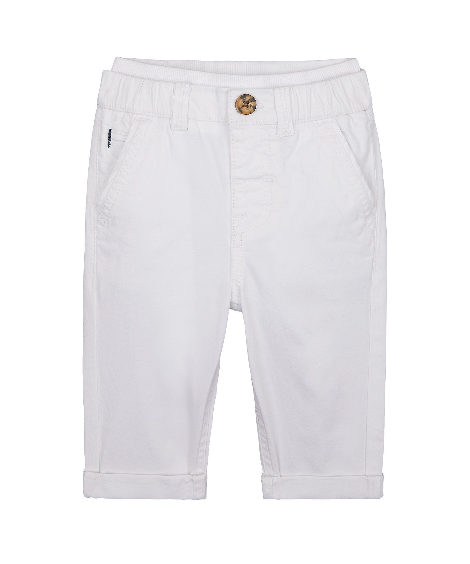 Mothercare | Boys Chino Trousers - White