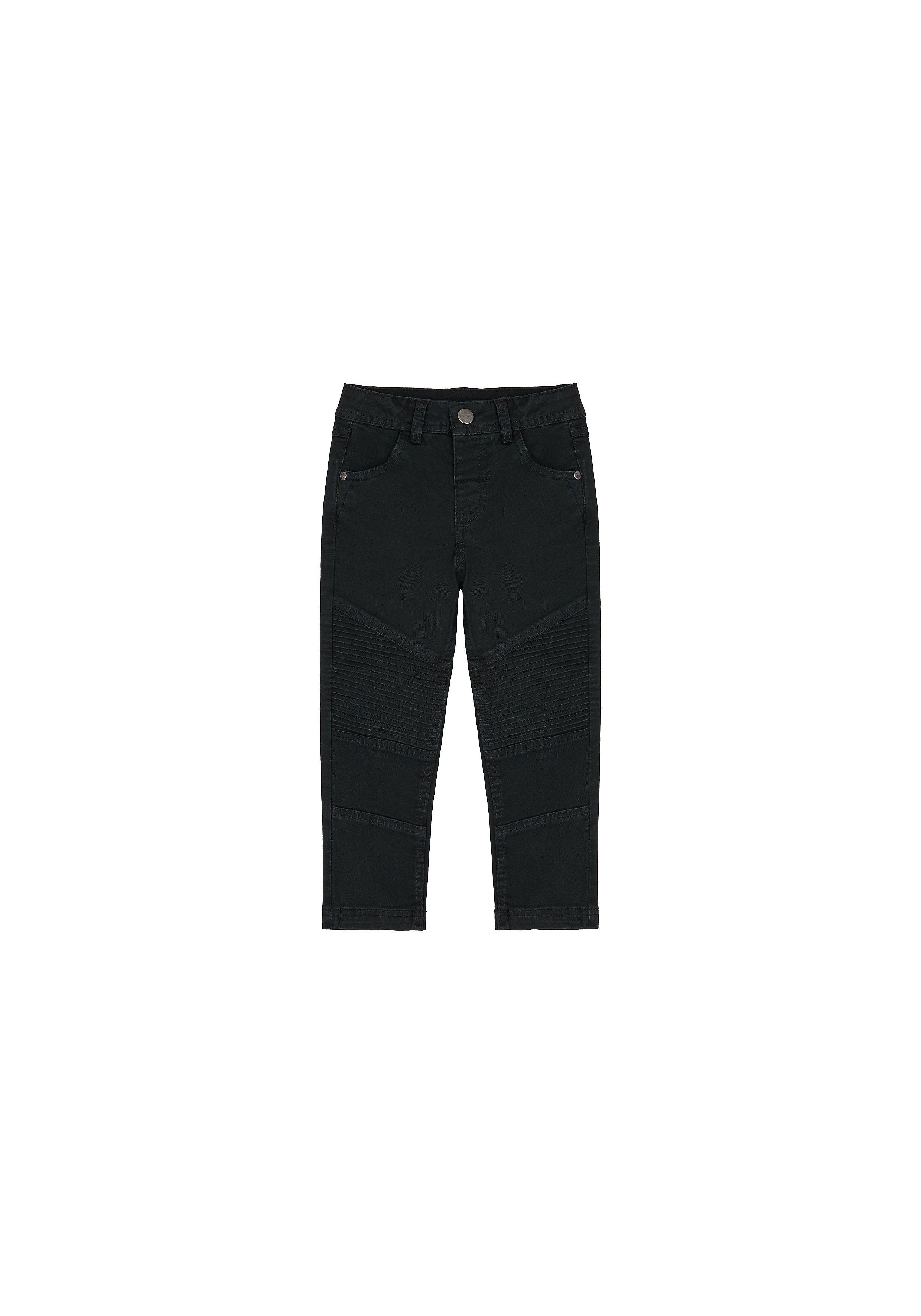 Mothercare | Boys Trousers Panel Details - Black