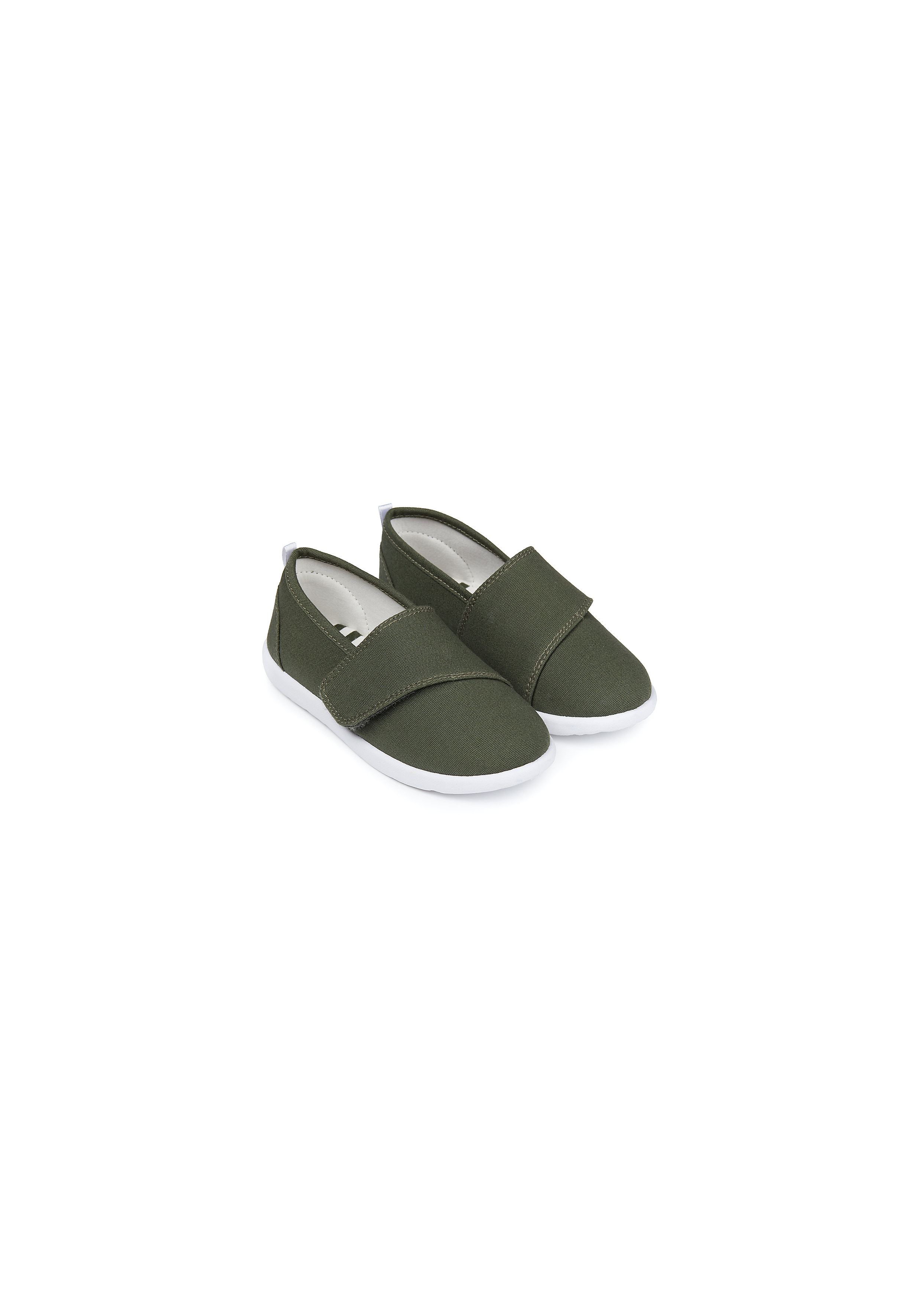 Mothercare | Boys Canvas Shoes  - Khaki