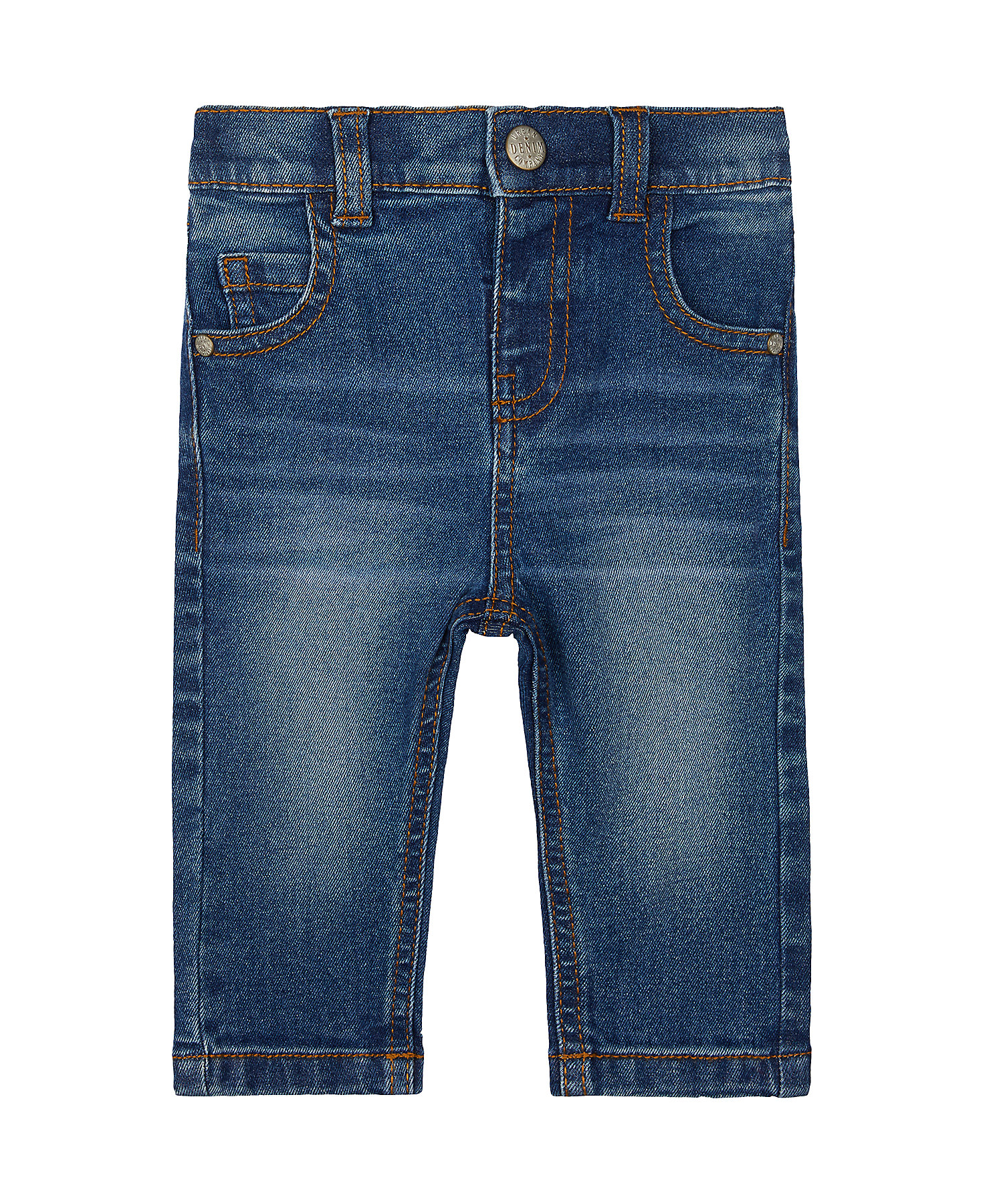 Mothercare | Boys Jeans Mid Wash - Blue
