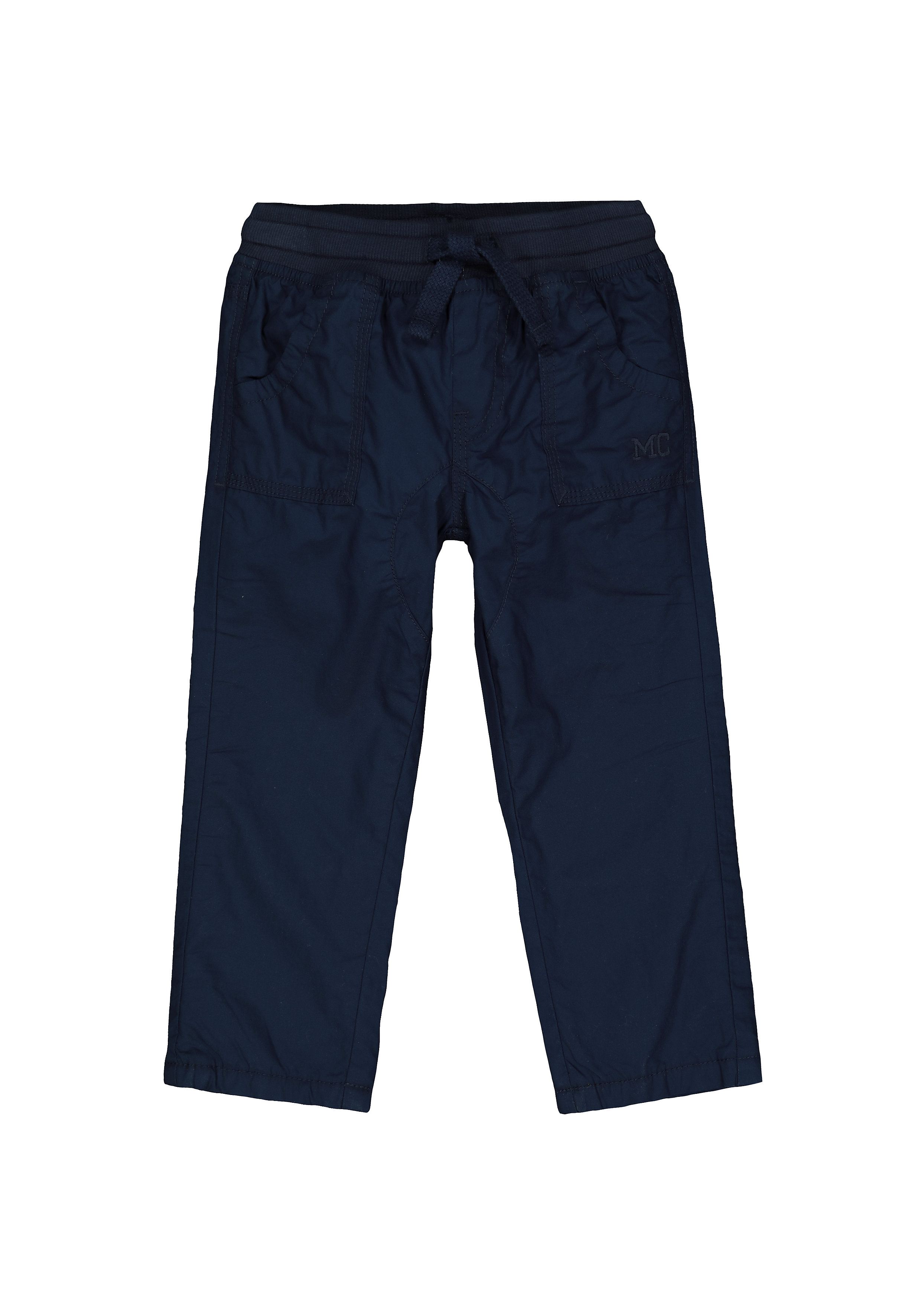 Mothercare | Boys Trousers Fleece Lined - Navy