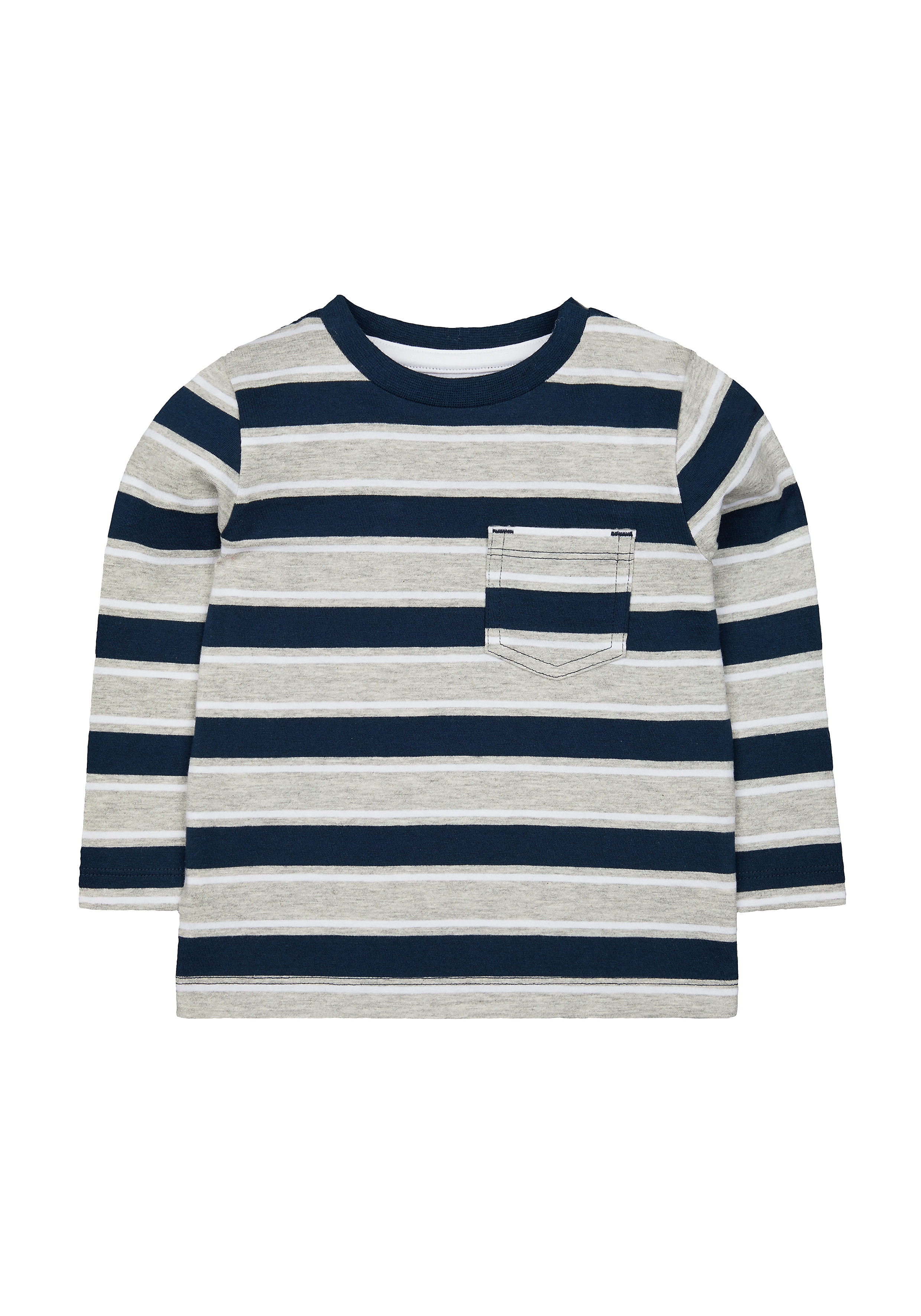 Mothercare | Boys Full Sleeves T-Shirt Striped - Multicolor