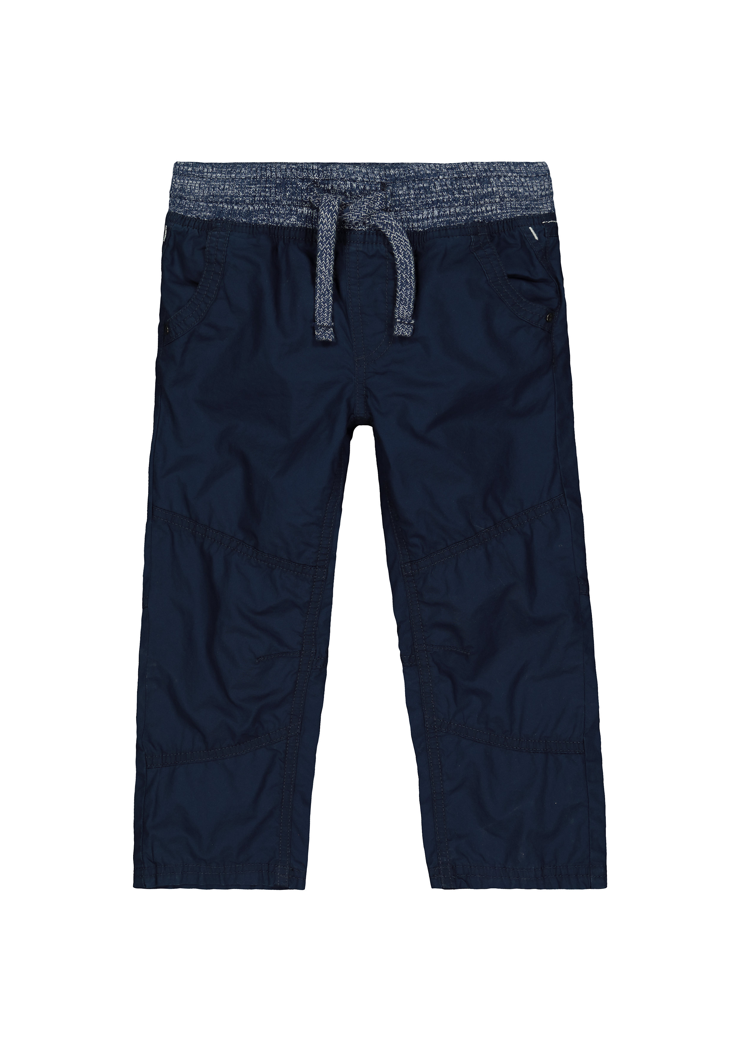 Mothercare | Boys Trousers Ribbed Waist - Navy