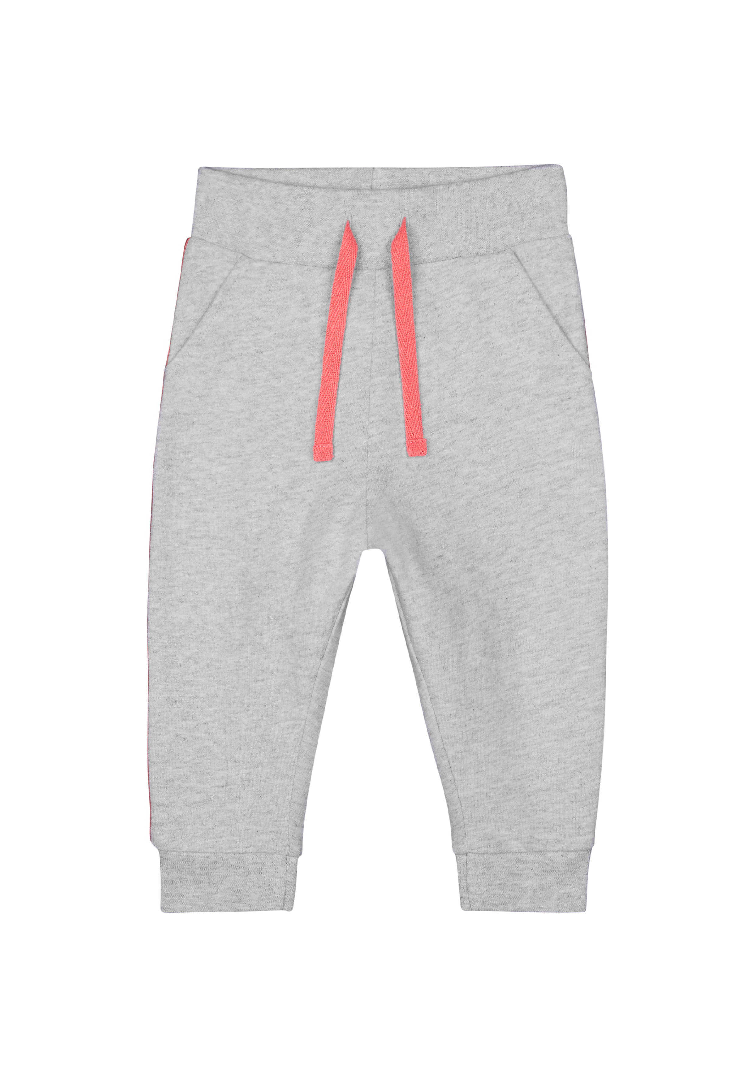 Mothercare | Girls Joggers Side Stripes - Grey