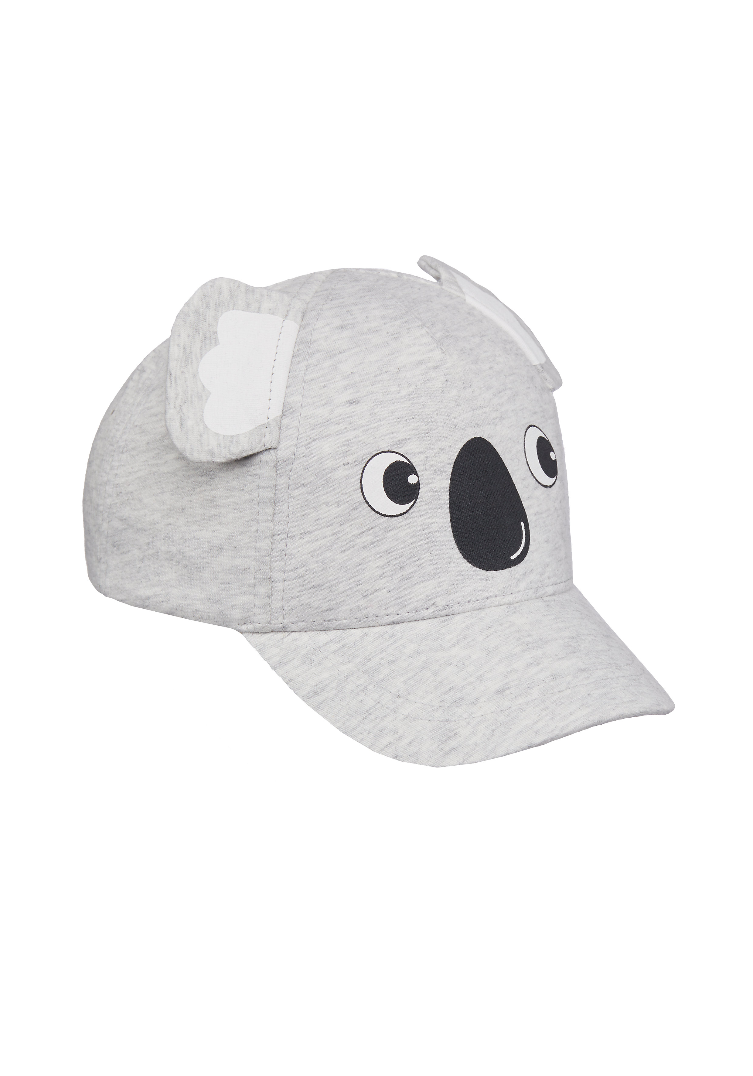 Mothercare | Girls Cap 3D Koala Ears - Grey